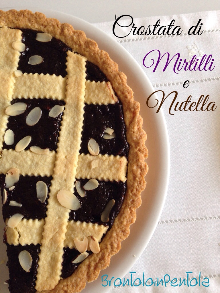 20140309-230945 Crostata di Mirtilli e Nutella