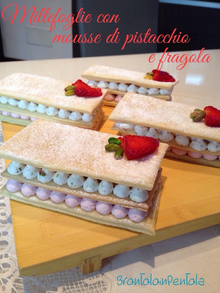 20140323-232547 Re-cake 6: Millefoglie con mousse di pistacchio e fragola