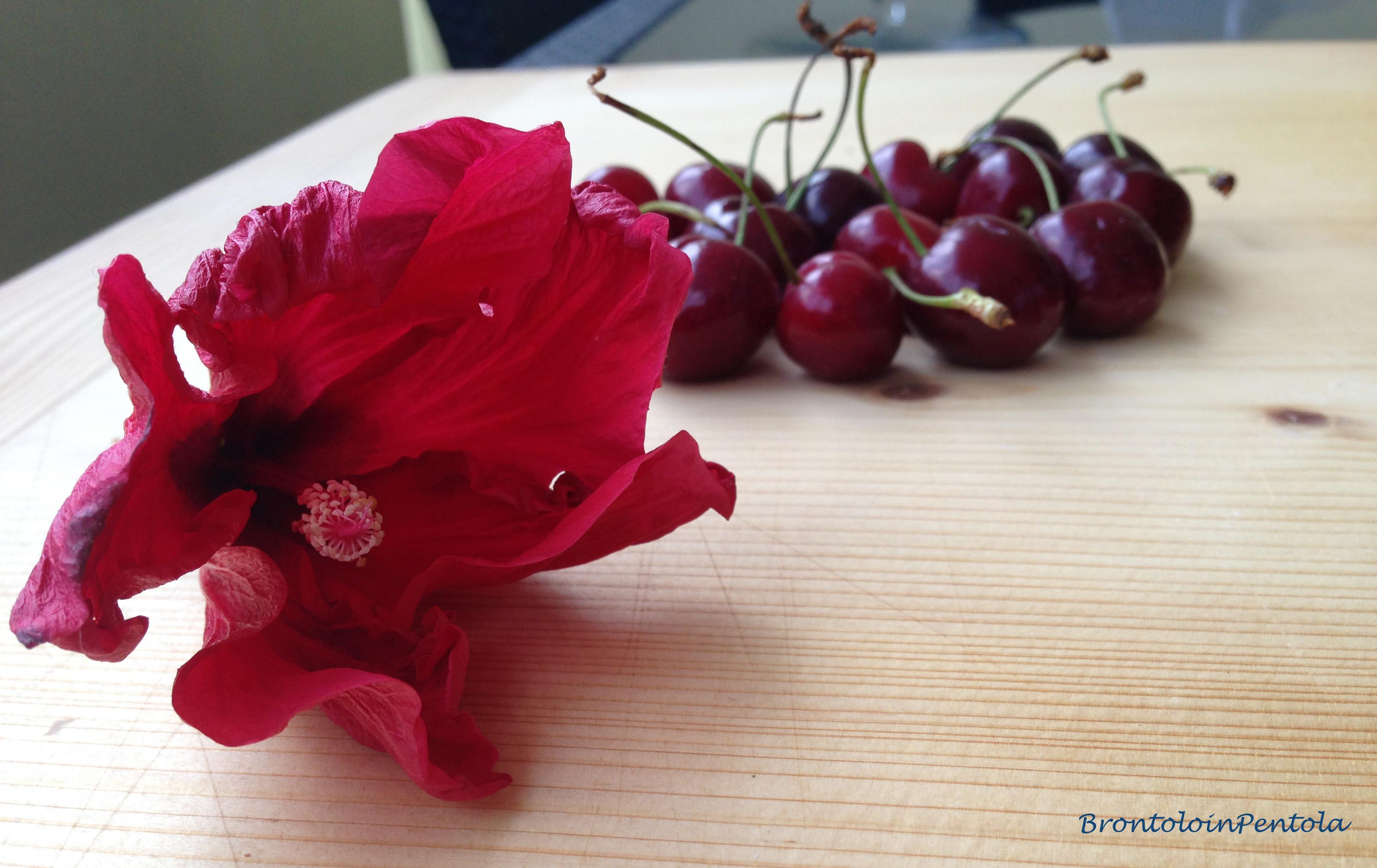 """img_2783 Balsamic Cherry pie with Black pepper & Cocoa crust (la mia """"non"""" Re-Cake!)"""