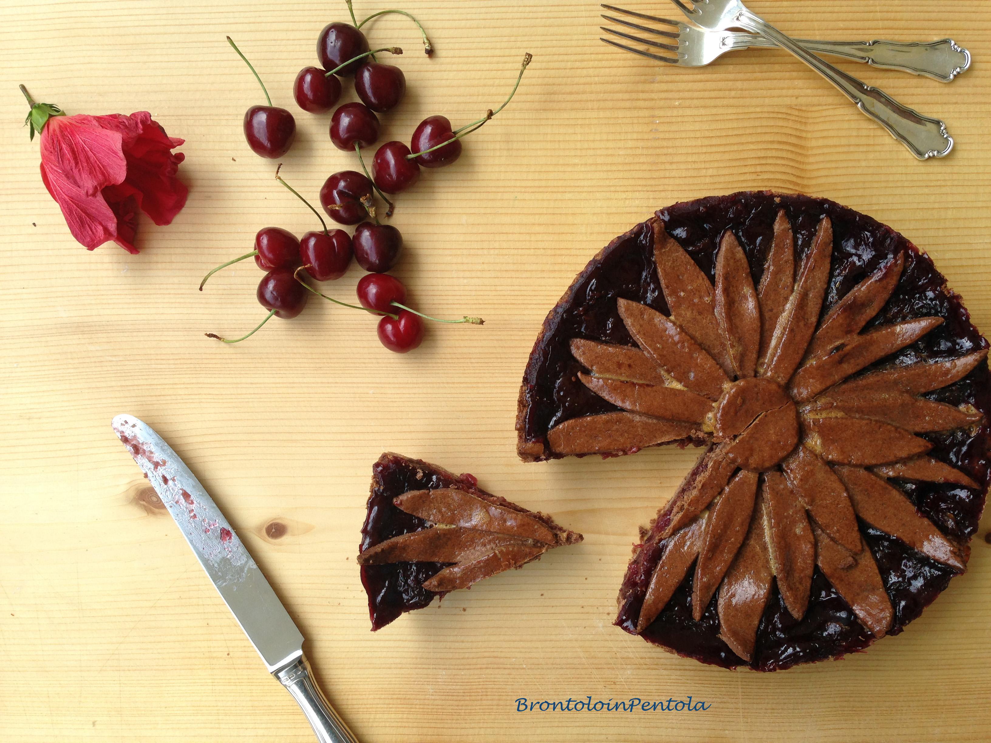 """img_2790 Balsamic Cherry pie with Black pepper & Cocoa crust (la mia """"non"""" Re-Cake!)"""