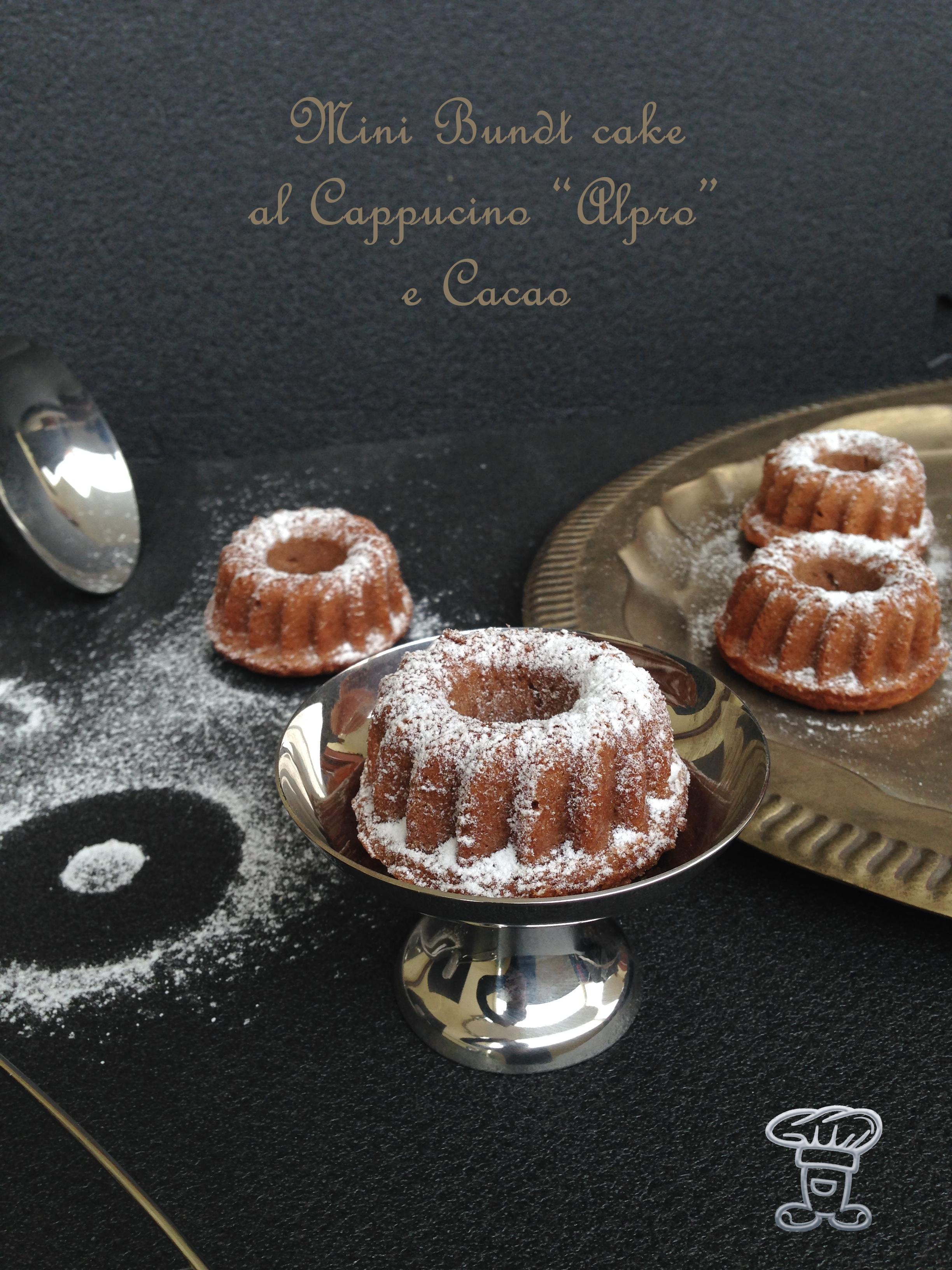 """img_4729 Mini Bundt cake al Cappuccino """"Alpro"""" e Cacao"""