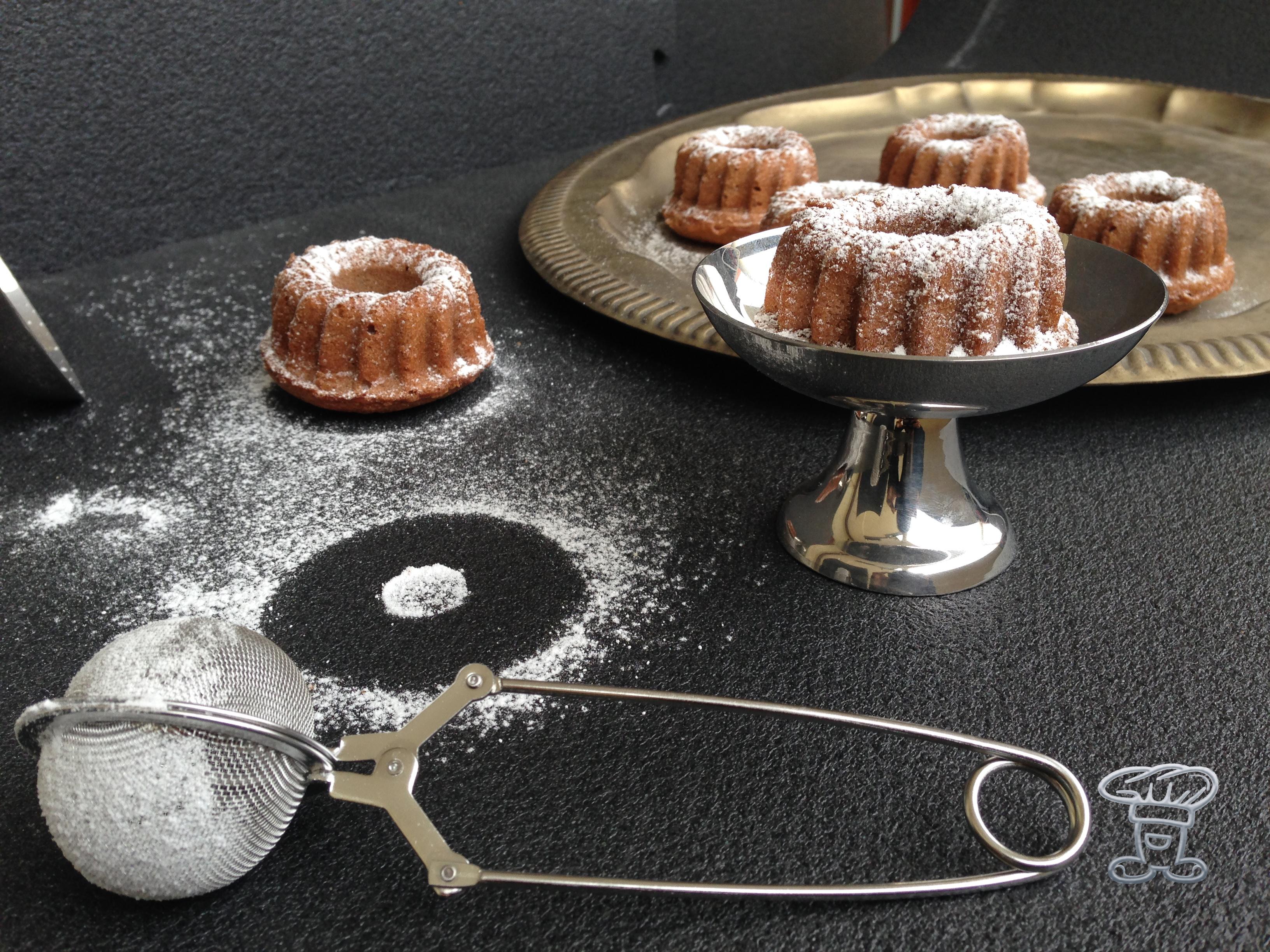 """img_4730 Mini Bundt cake al Cappuccino """"Alpro"""" e Cacao"""