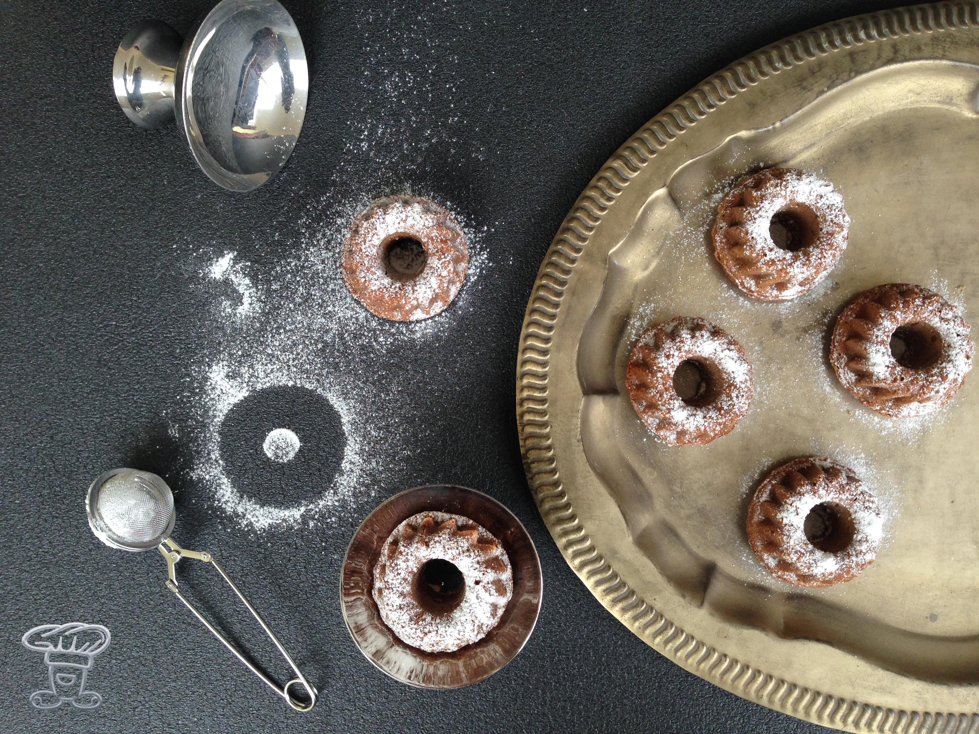 """img_4733 Mini Bundt cake al Cappuccino """"Alpro"""" e Cacao"""