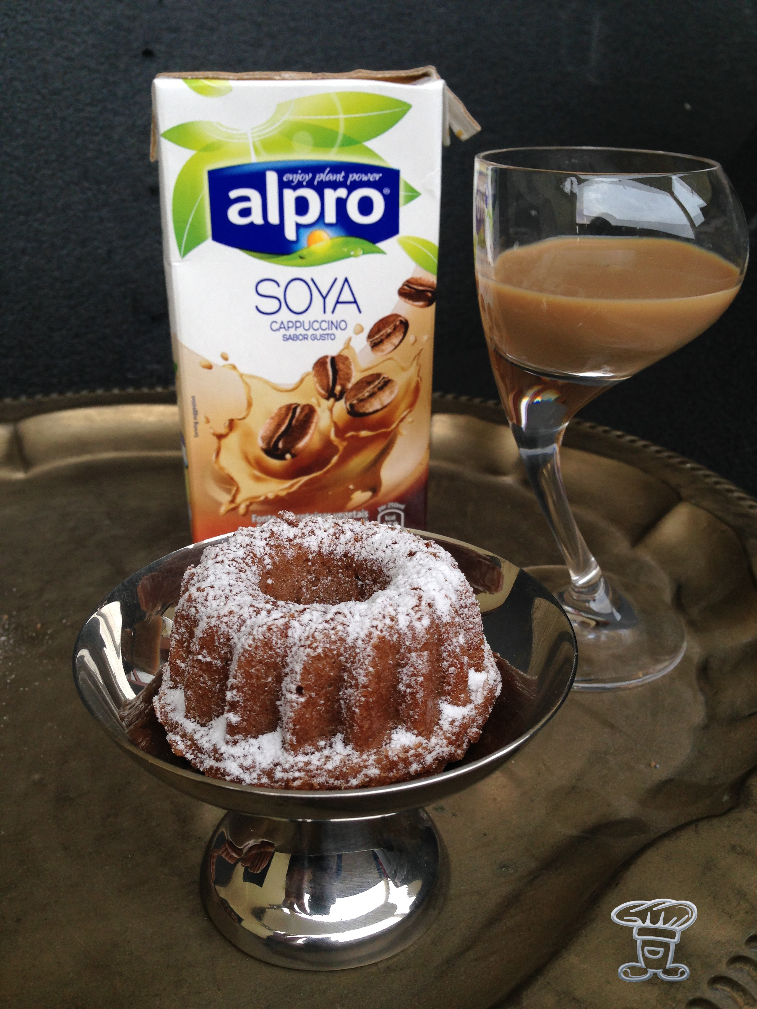 """img_4762 Mini Bundt cake al Cappuccino """"Alpro"""" e Cacao"""