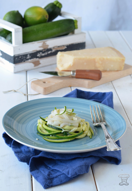 DSC_0128 Finti tagliolini di zucchine e seppie