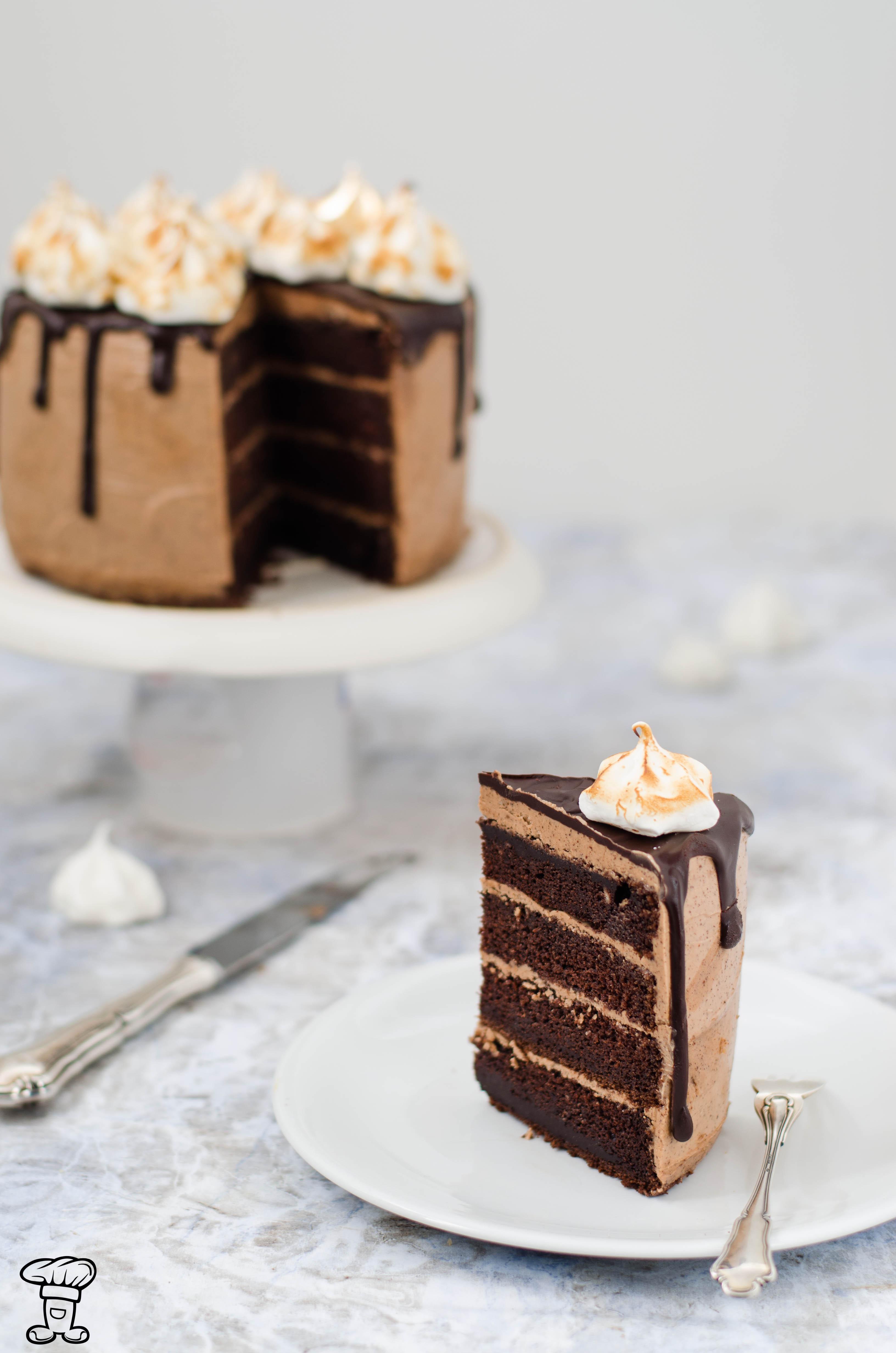 Torta_cioccolato_meringa2 Torta cioccolato e meringa