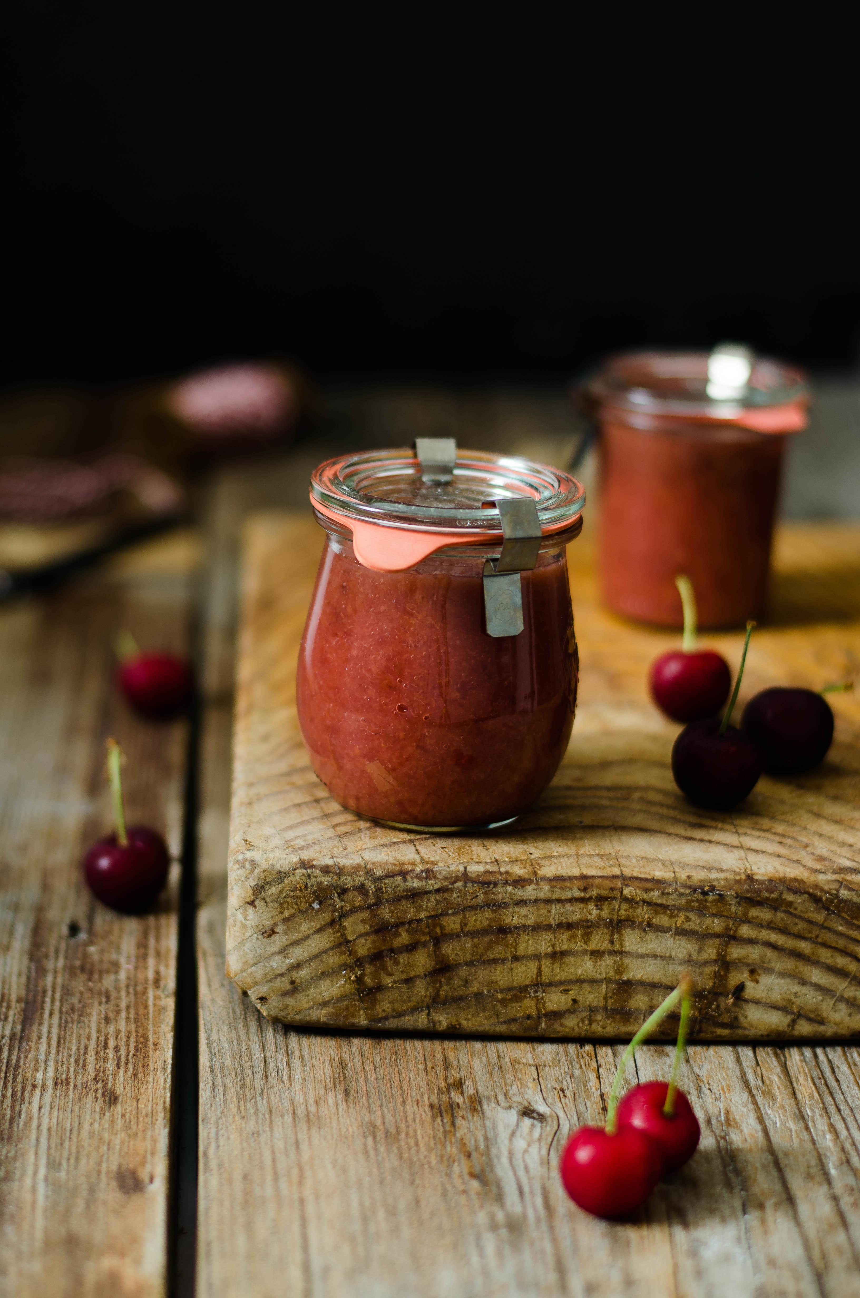 confettura_ciliegie_prosecco Confettura di ciliegie (senza zucchero) e prosecco