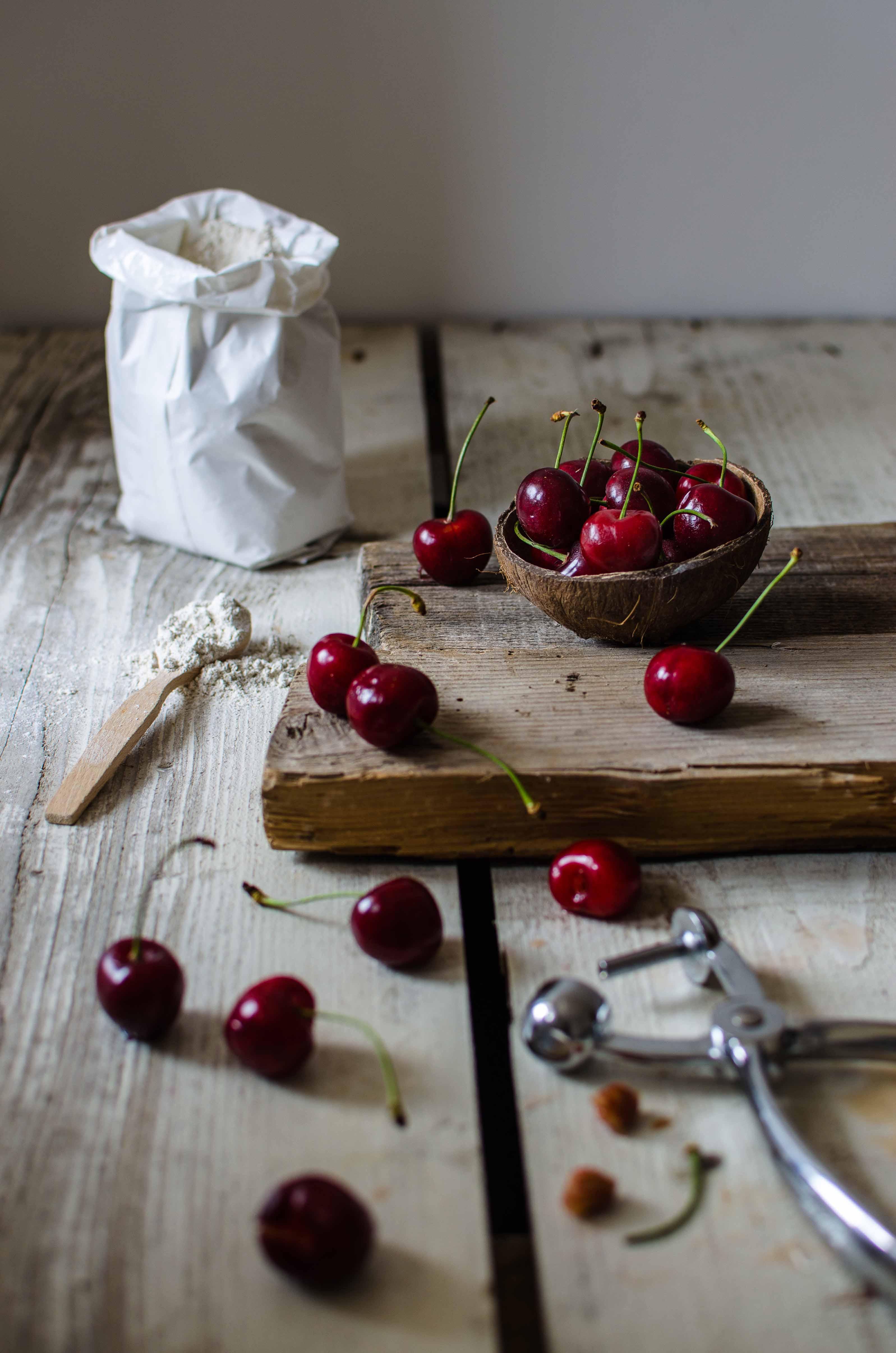focaccia_ciliegie1 Focaccia dolce con ciliegie
