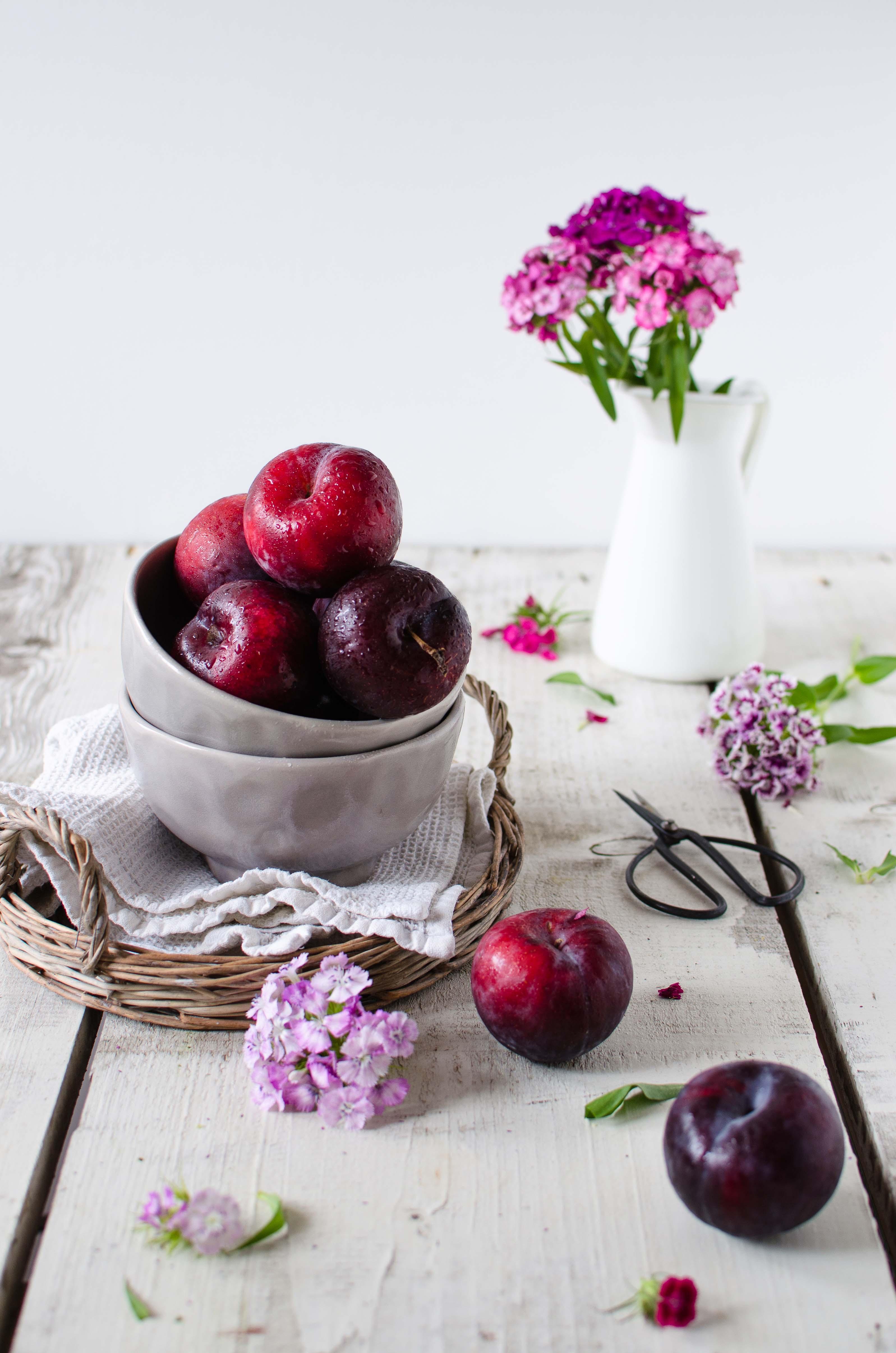 torta_integrale_prugne Torta integrale prugne e pistacchi