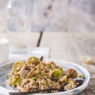 Grano saraceno, lupini e pistacchi