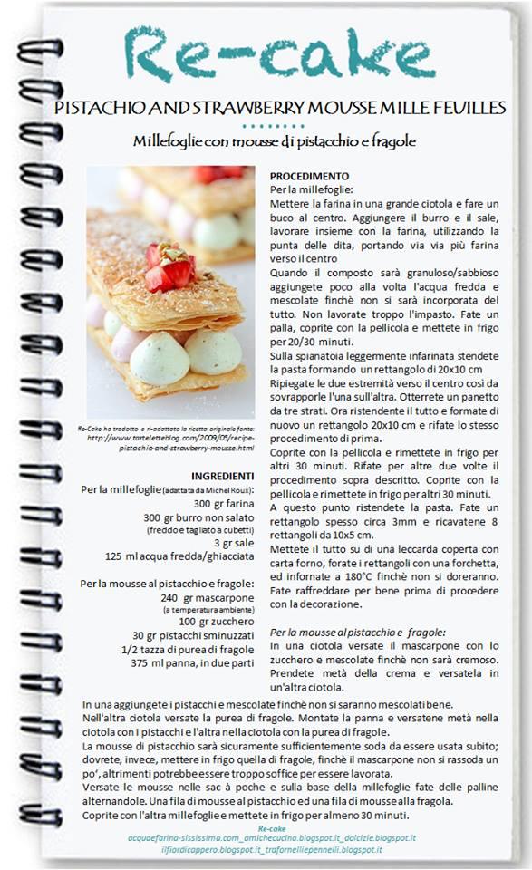 1780754_232755173577804_24199736_n Re-cake 6: Millefoglie con mousse di pistacchio e fragola