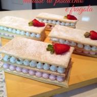 Re-cake 6: Millefoglie con mousse di pistacchio e fragola