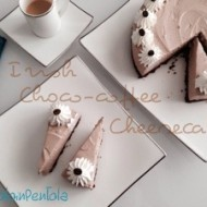 Irish choco-coffee cheesecake