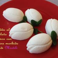 Semifreddo al Cioccolato Bianco con cuore morbido ai Mirtilli