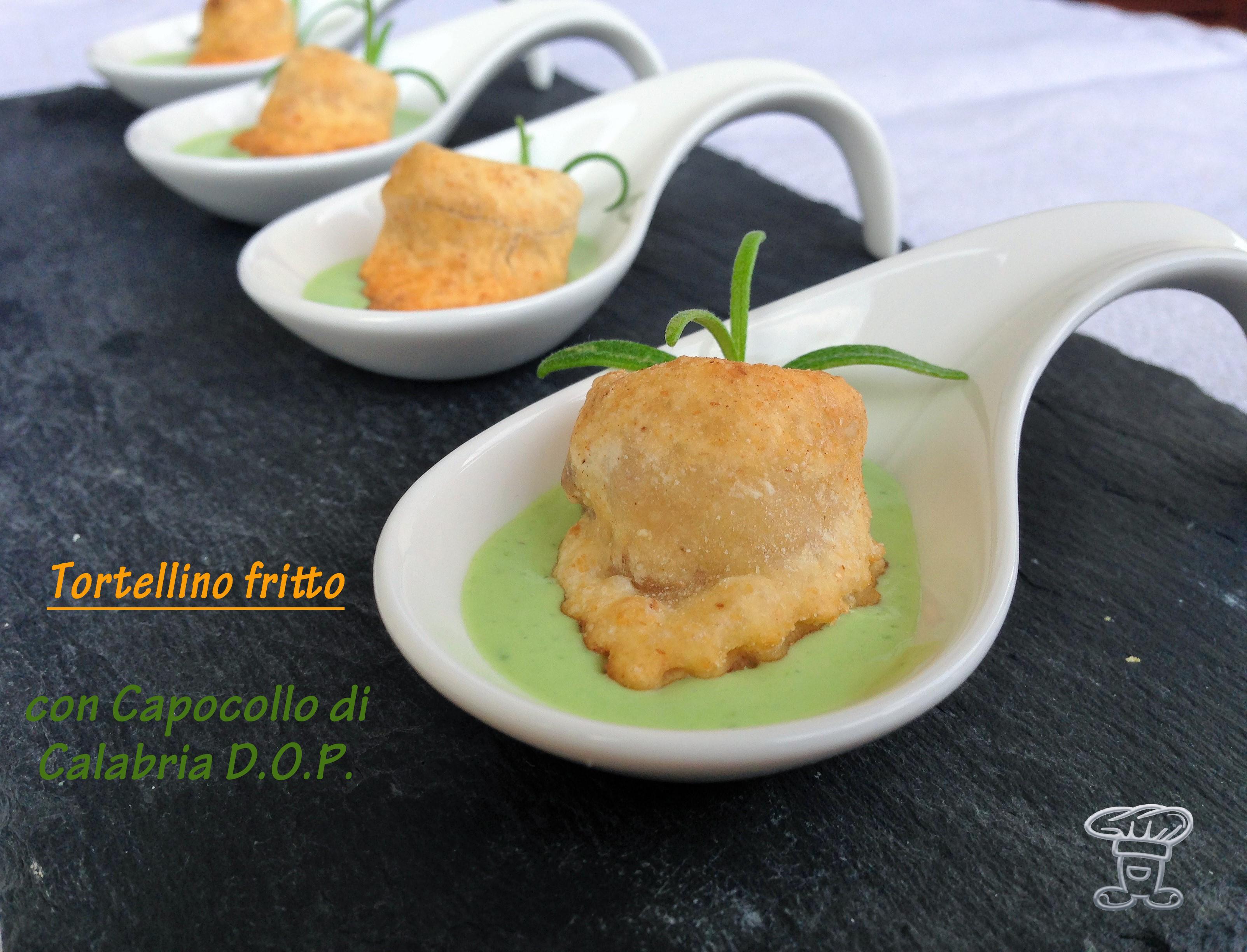 img_3765 Tortellini fritti ripieni di Capocollo di Calabria DOP e formaggio cremoso