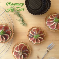 RE-CAKE #11: la mia Rosemary Fig Tart