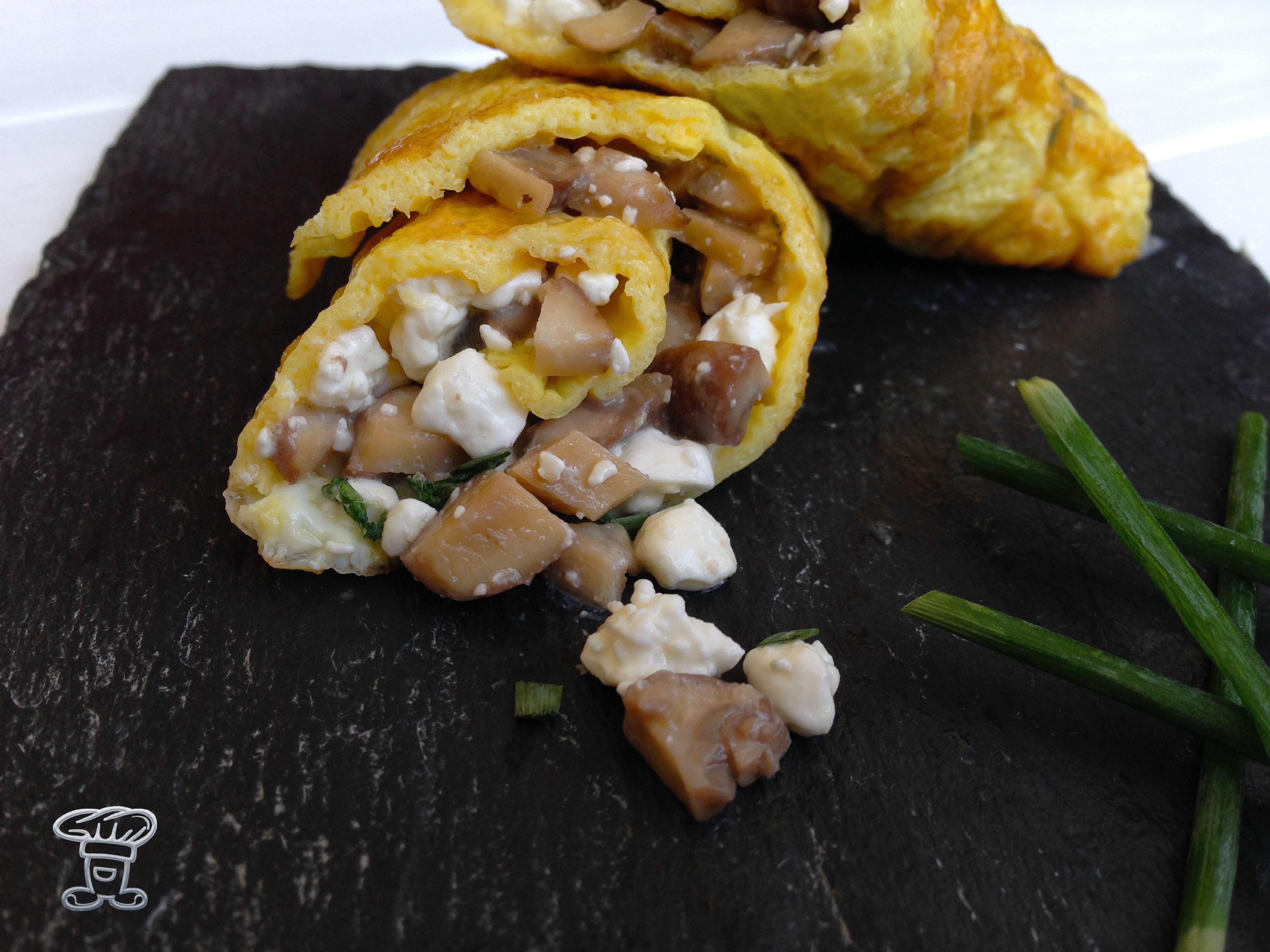 img_4606 Omelette ai Funghi e Fiocchi di Latte