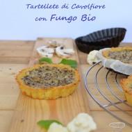 Tartellette di cavolfiore con Fungo Bio e lo Show cooking di Marco Bianchi
