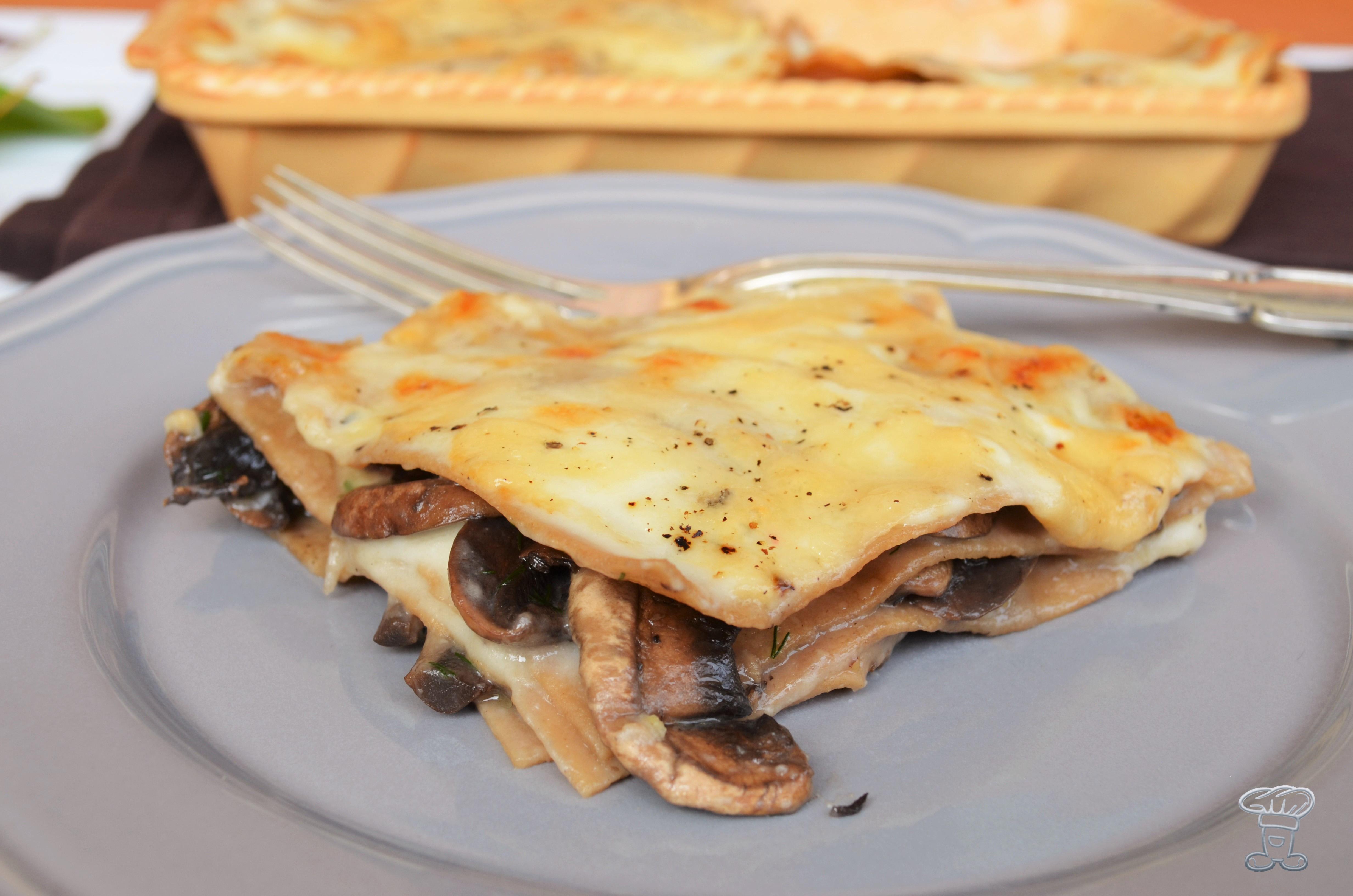 dsc_0481 Lasagne alle Castagne, crema al Taleggio e Funghi