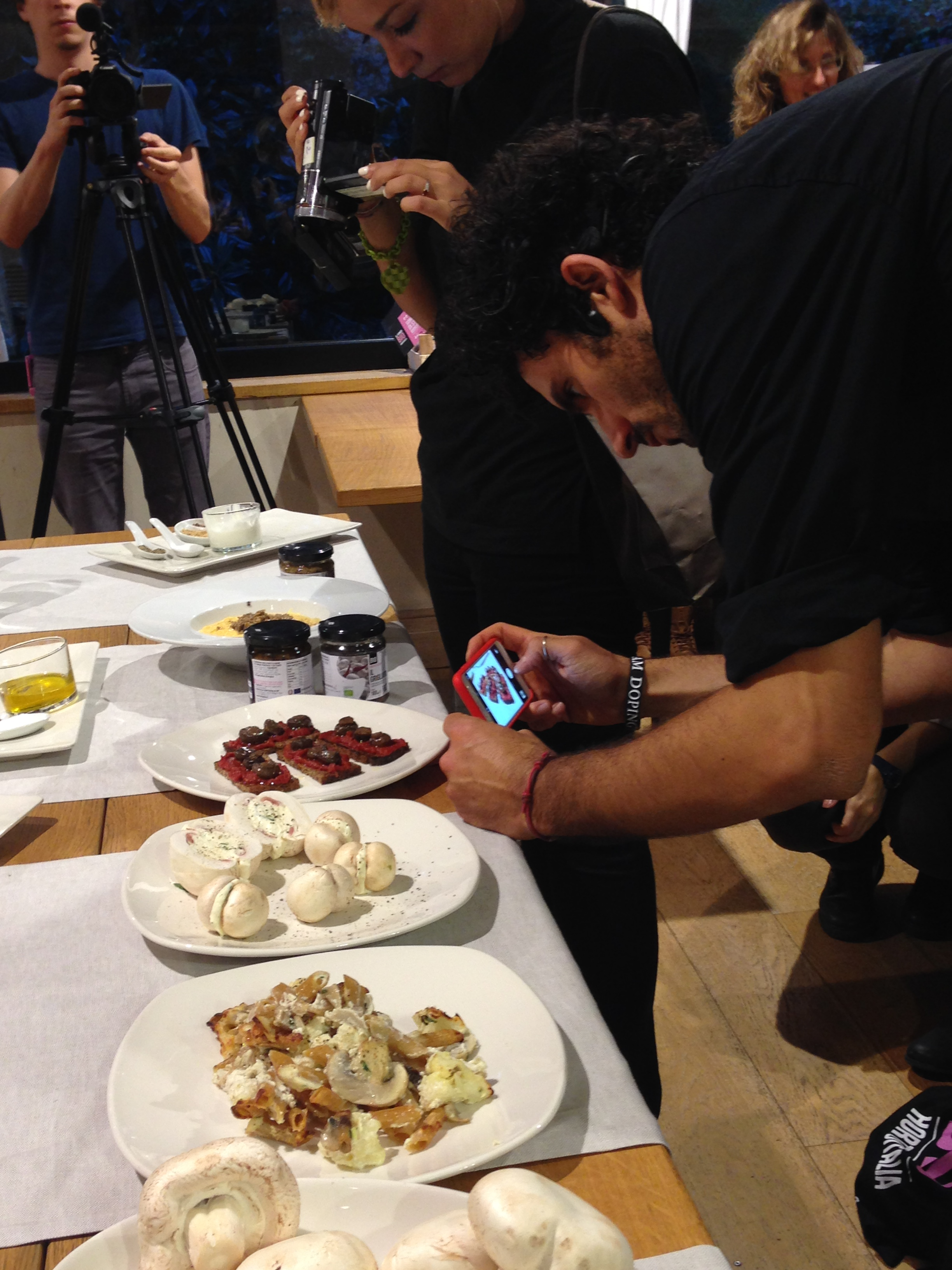 img_4947 Tartellette di cavolfiore con Fungo Bio e lo Show cooking di Marco Bianchi