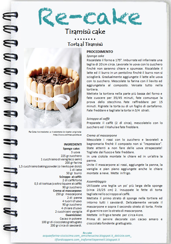 locandina-re-cake-12 Tiramisù Cake per Re-Cake #12...Happy Birthday Re-Cake!!!