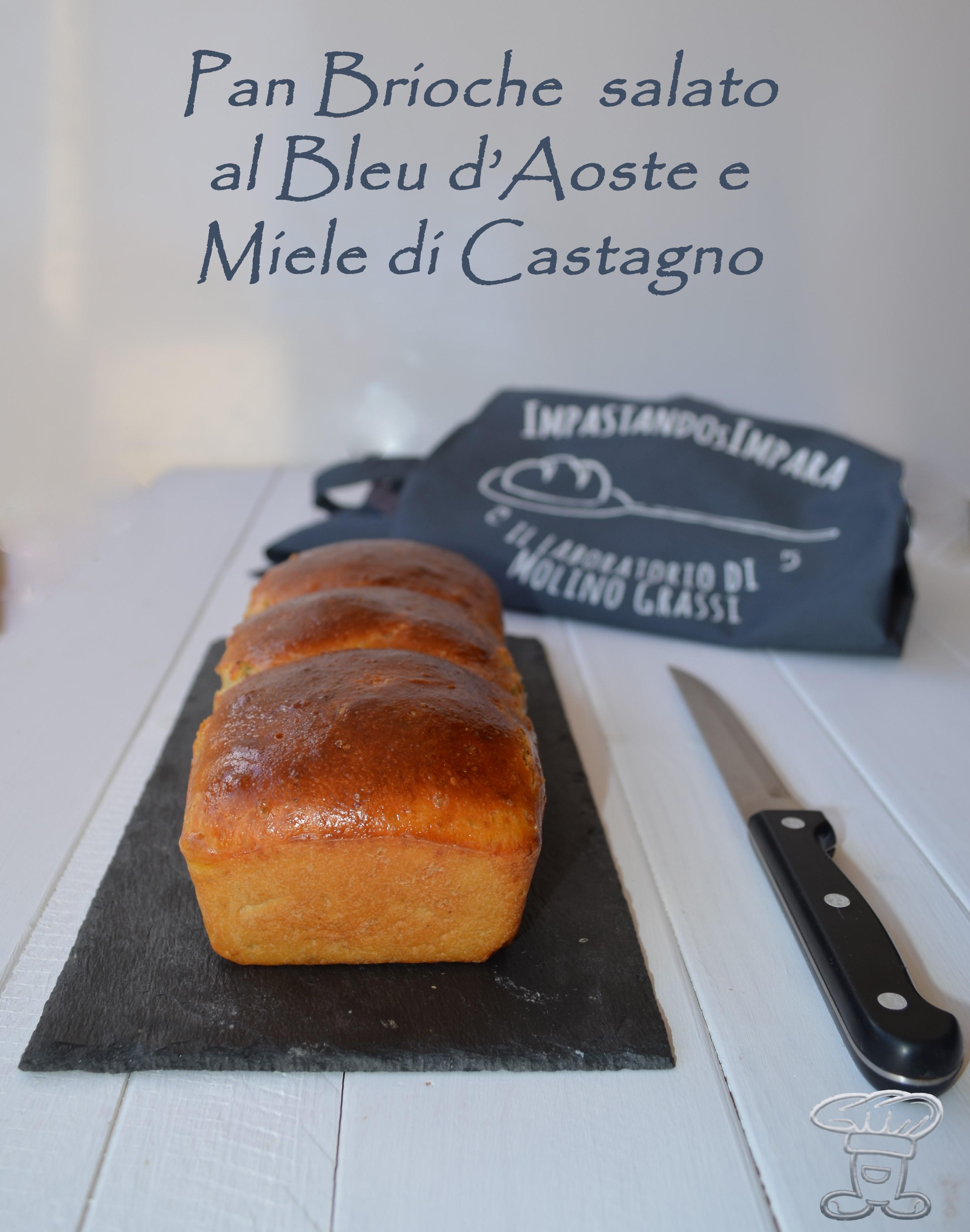 dsc_0559 Pan Brioche salato al Bleu d'Aoste e Miele di Castagno