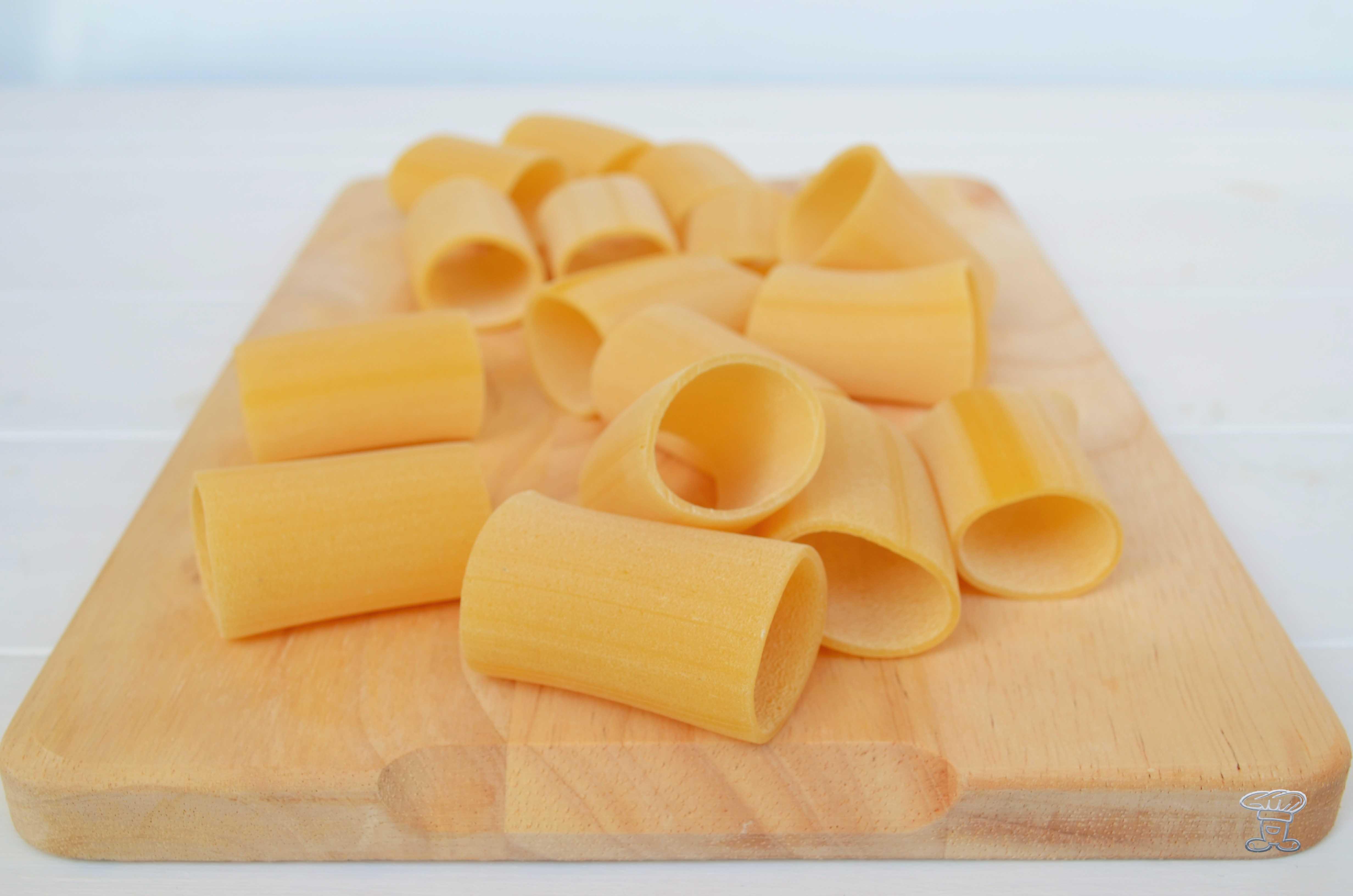 dsc_0665 Paccheri croccanti su crema di Cannellini