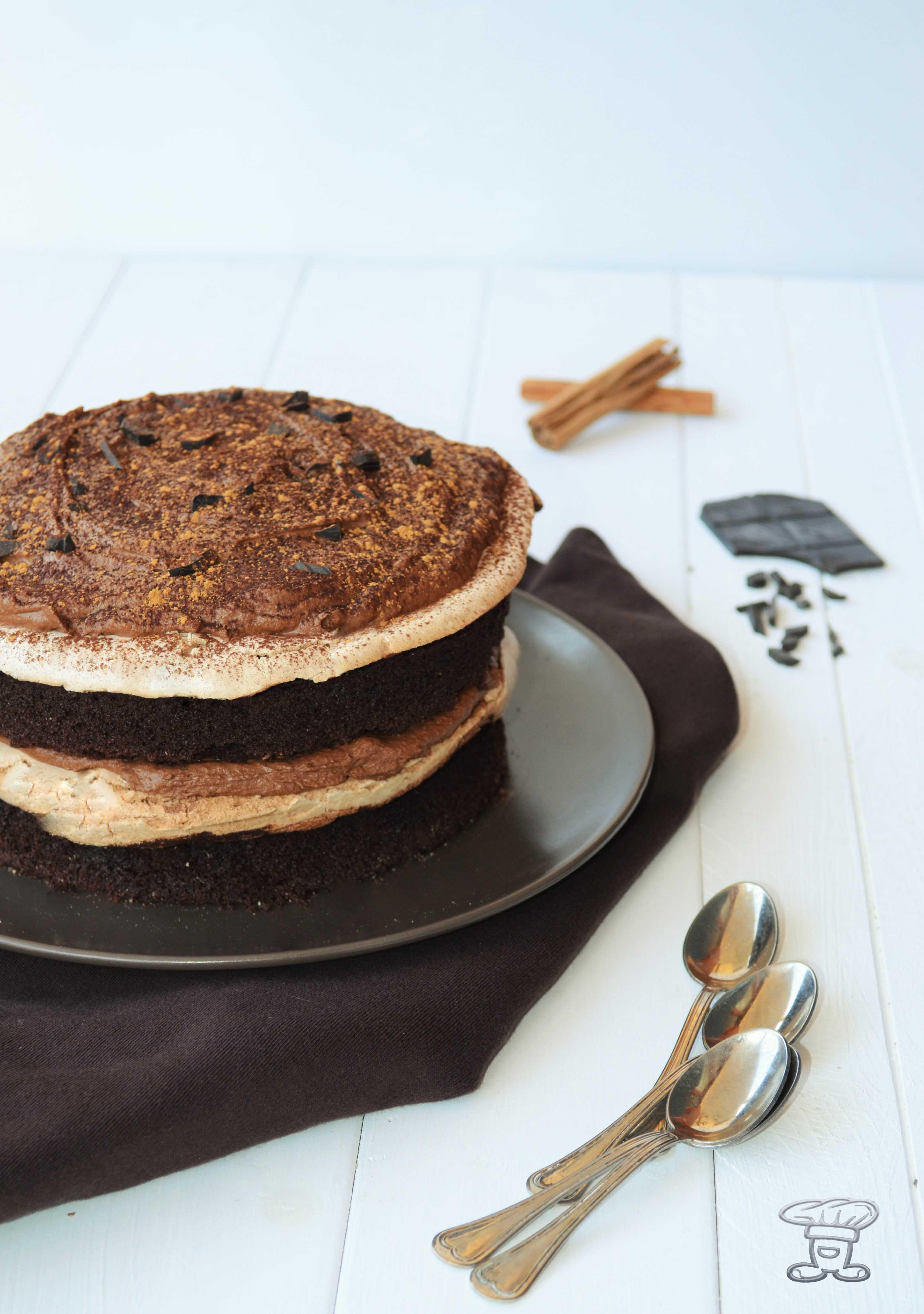 dsc_0709 Torta al Cacao, Meringa alla cannella, Mousse fondente