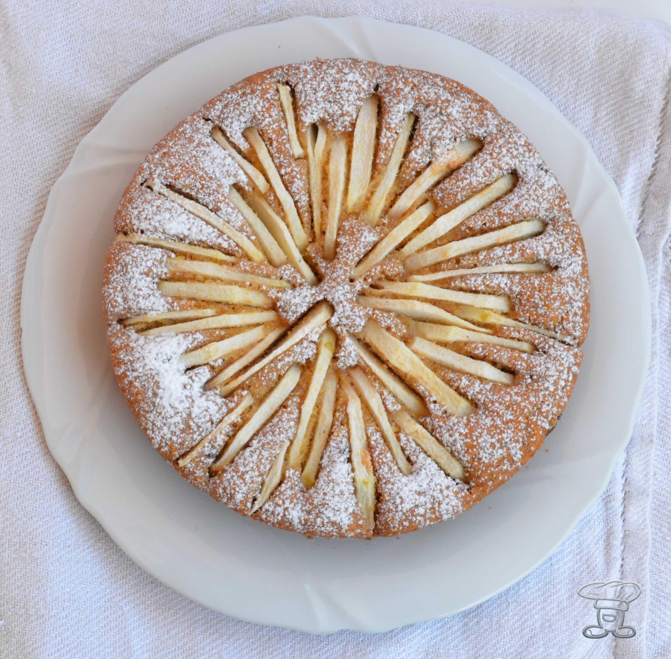 dsc_0712 Torta Vegana di Mele e Limoncello (...... senza lattosio!!!)