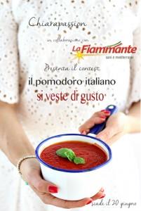 contest-chiarapassion-Pomodoroitaliano-lafiammante-201x300 Pasta con Datterino Giallo, Calamari, Olio alla Menta