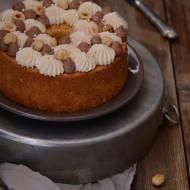 Fluffosa (ovvero chiffon cake) alla Pasta di Nocciole