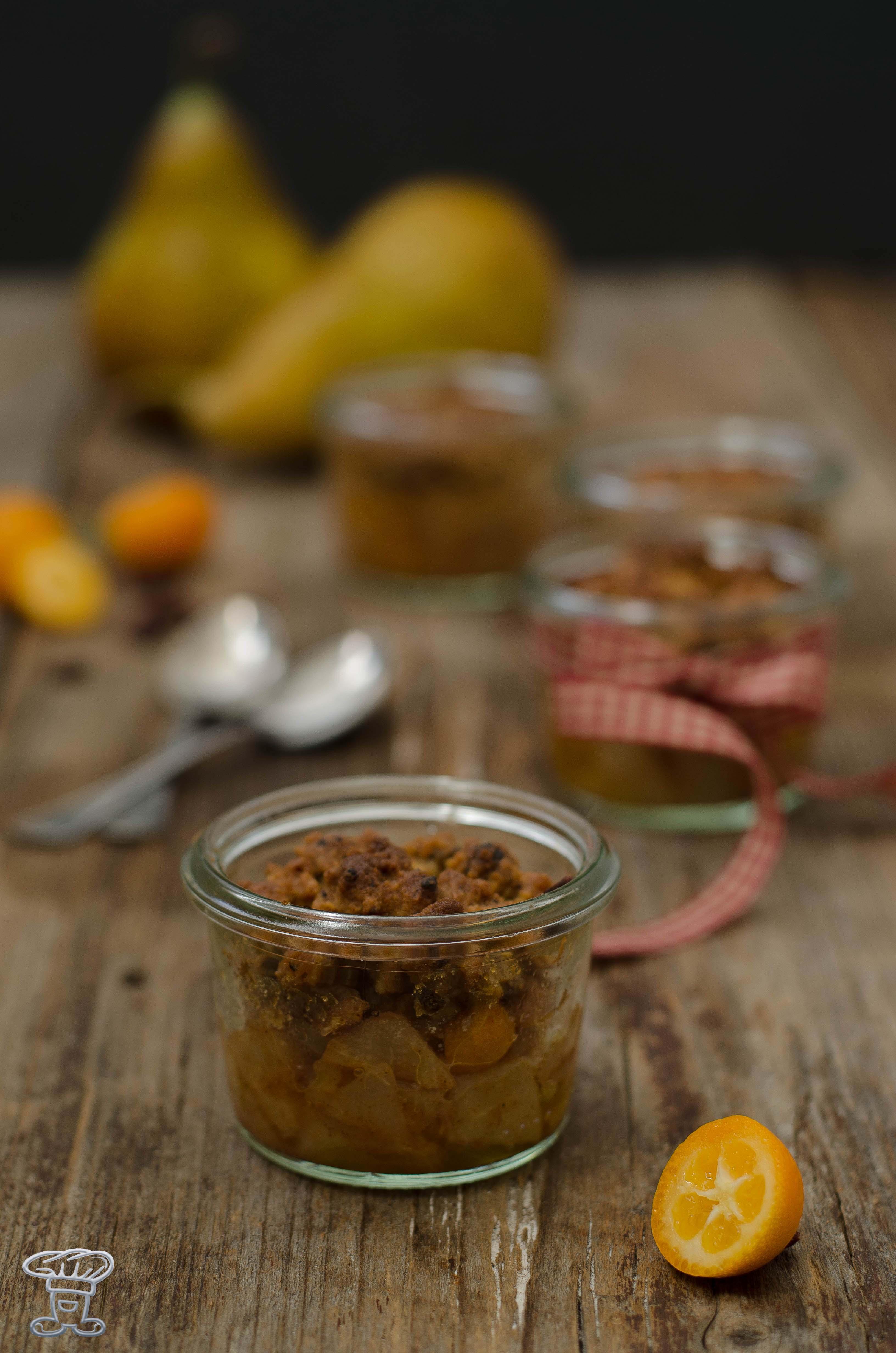 crumble_cantucci_mandarini_pere3 Crumble di pere e kumquat speziati