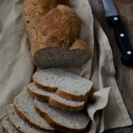 Pane di lenticchie con lievito madre