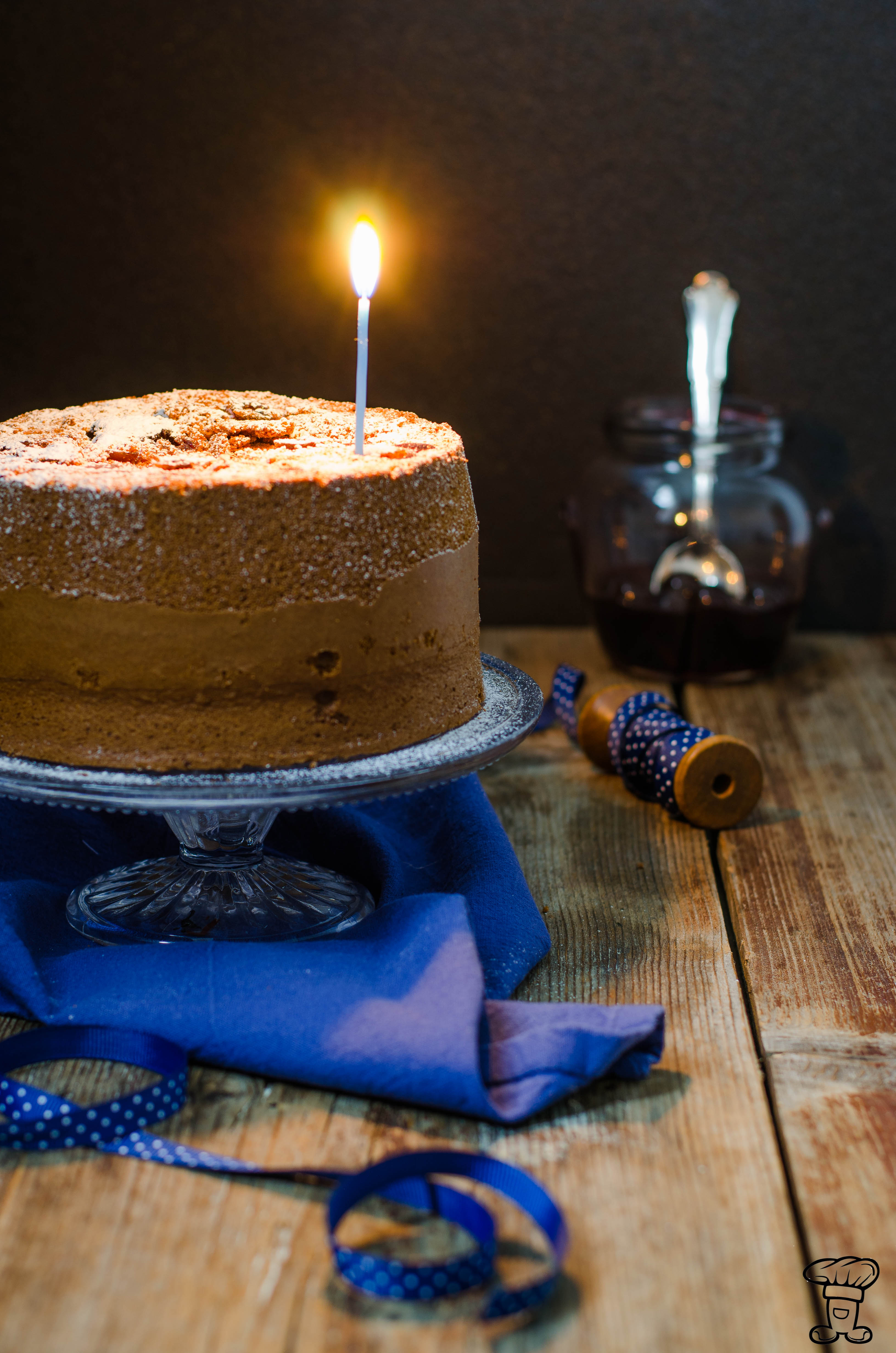 Fluffosa-birra_amarene_cioccolato Fluffosa alla birra, cacao ed amarene (Buon compleanno Ifood!)