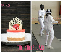 bannersfida Cheesecake ciliegie, basilico ed amaretto