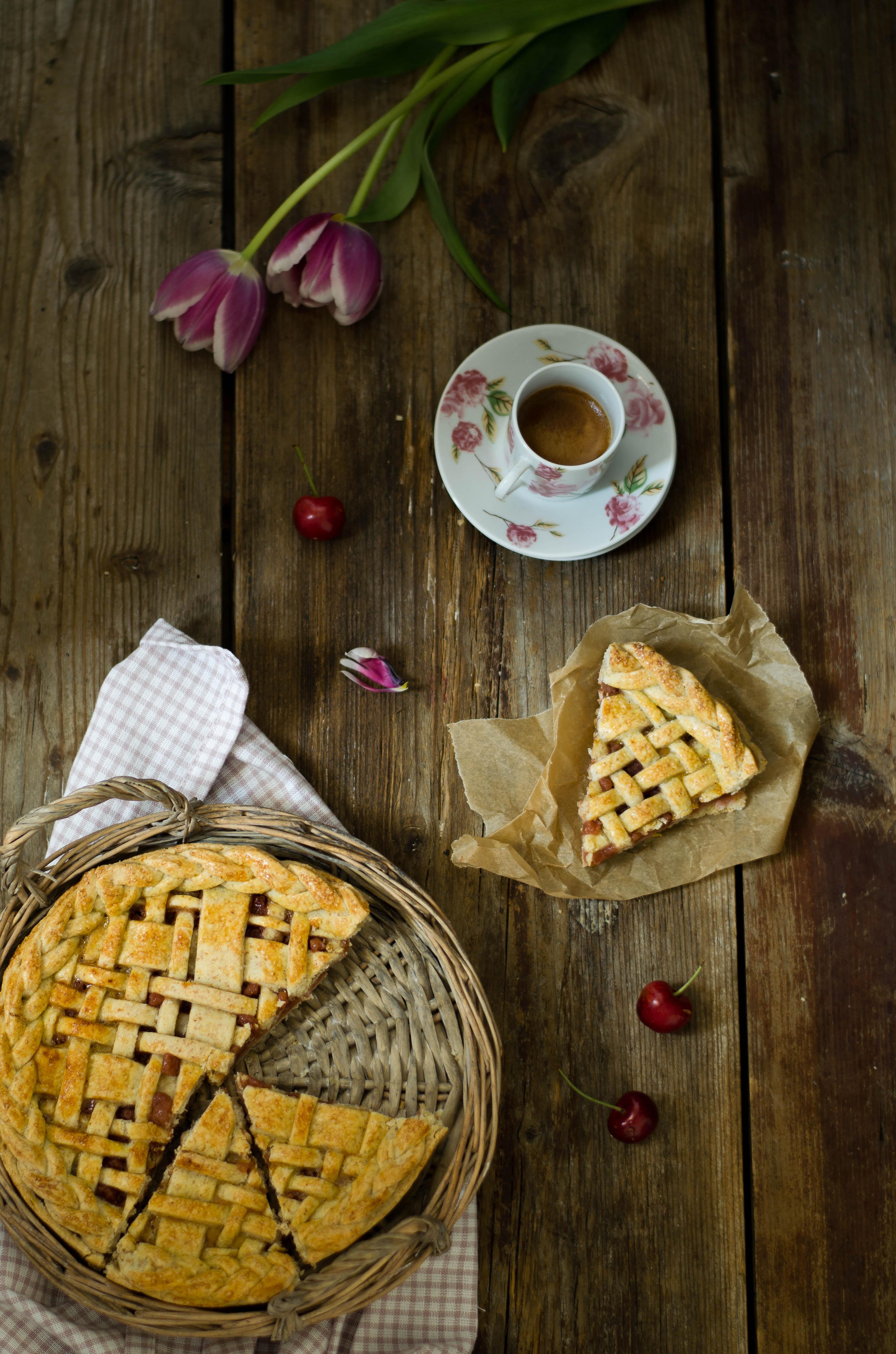 pie_integrale_ciliegie3 Pie integrale con confettura di ciliegie