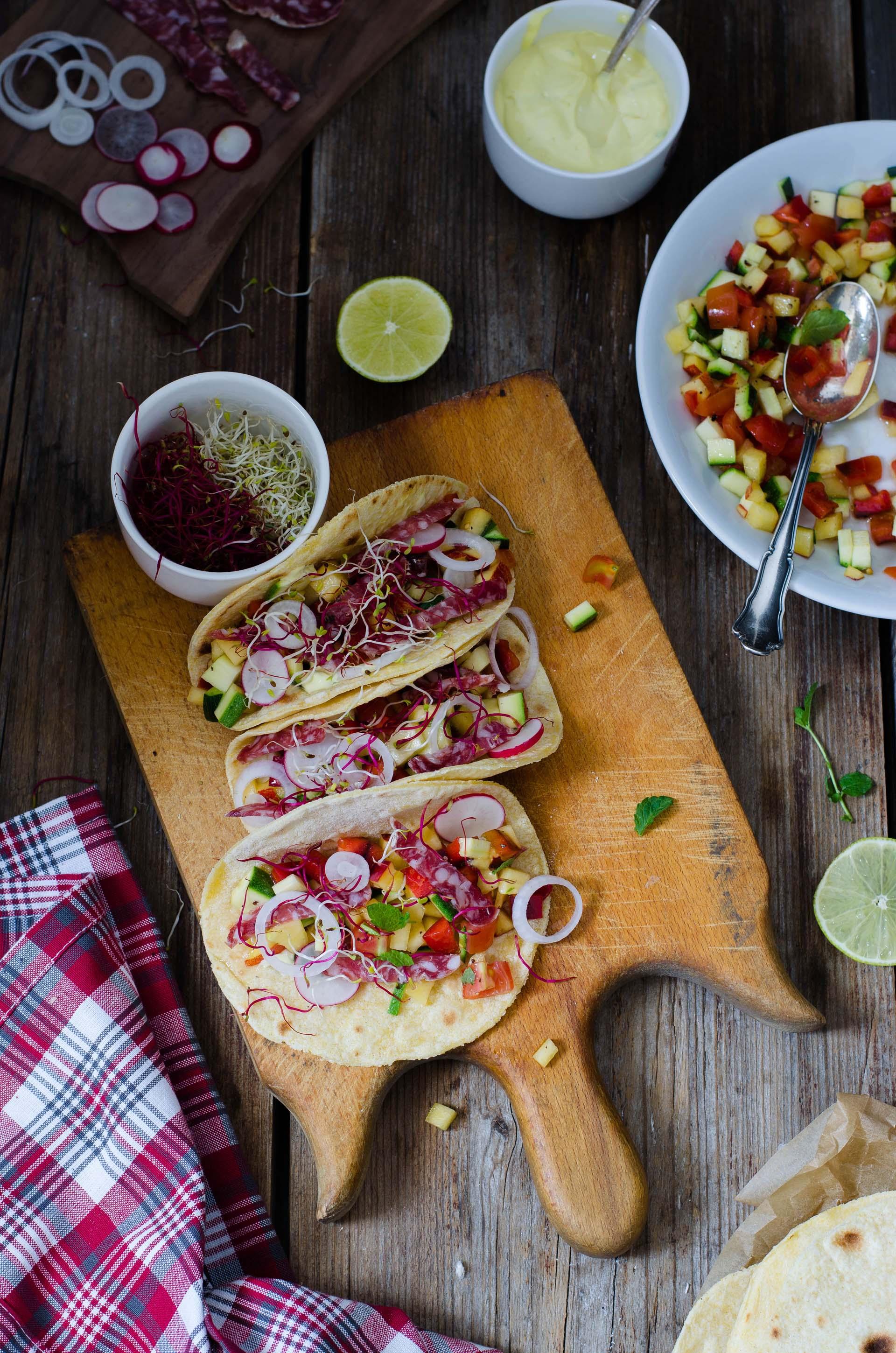 tacos_contest_clai2 Tacos con salame Amarcord per il contest CLAI