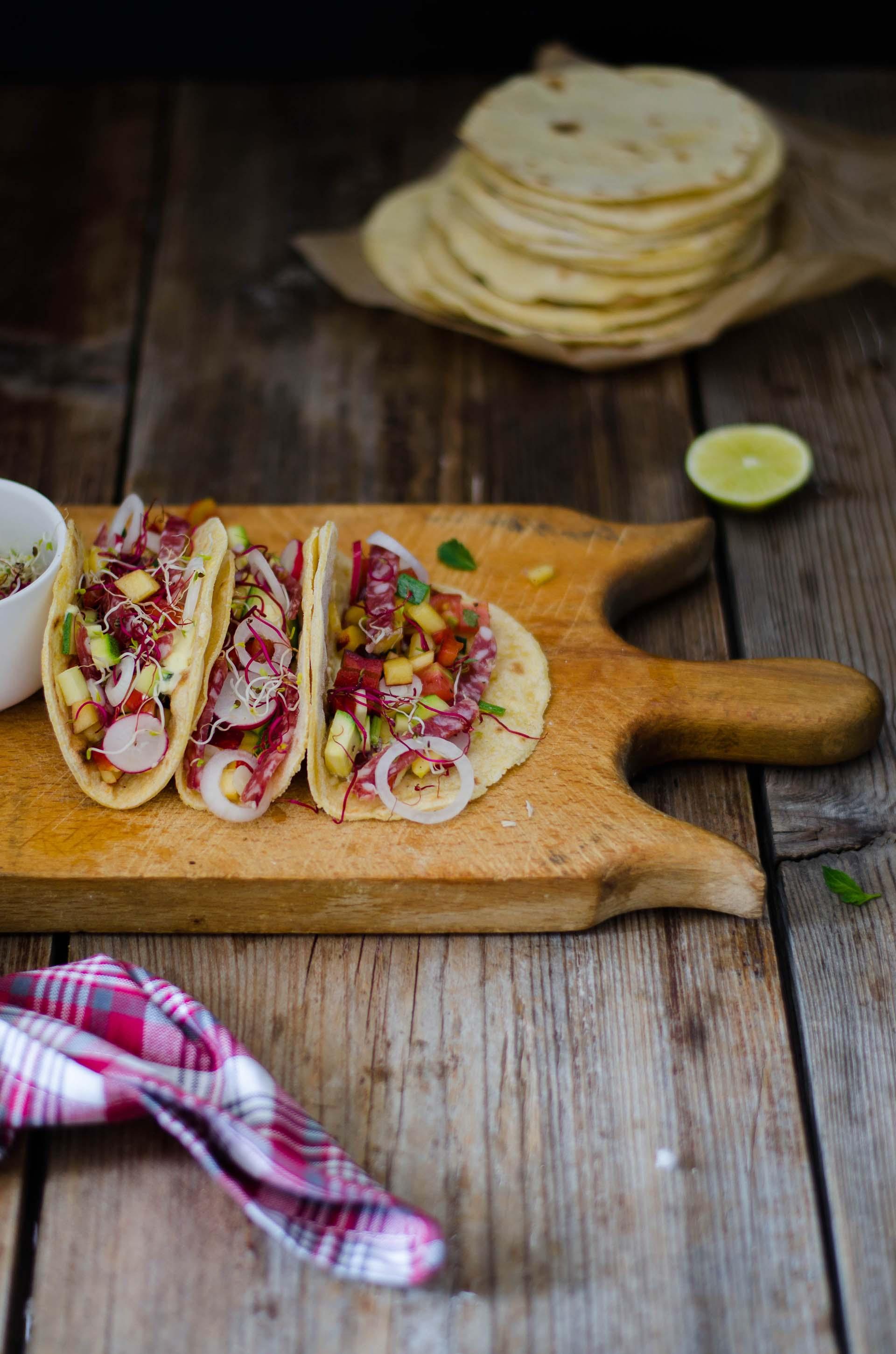 tacos_contest_clai5 Tacos con salame Amarcord per il contest CLAI