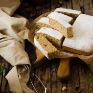 Hot milk sponge cake alle nocciole