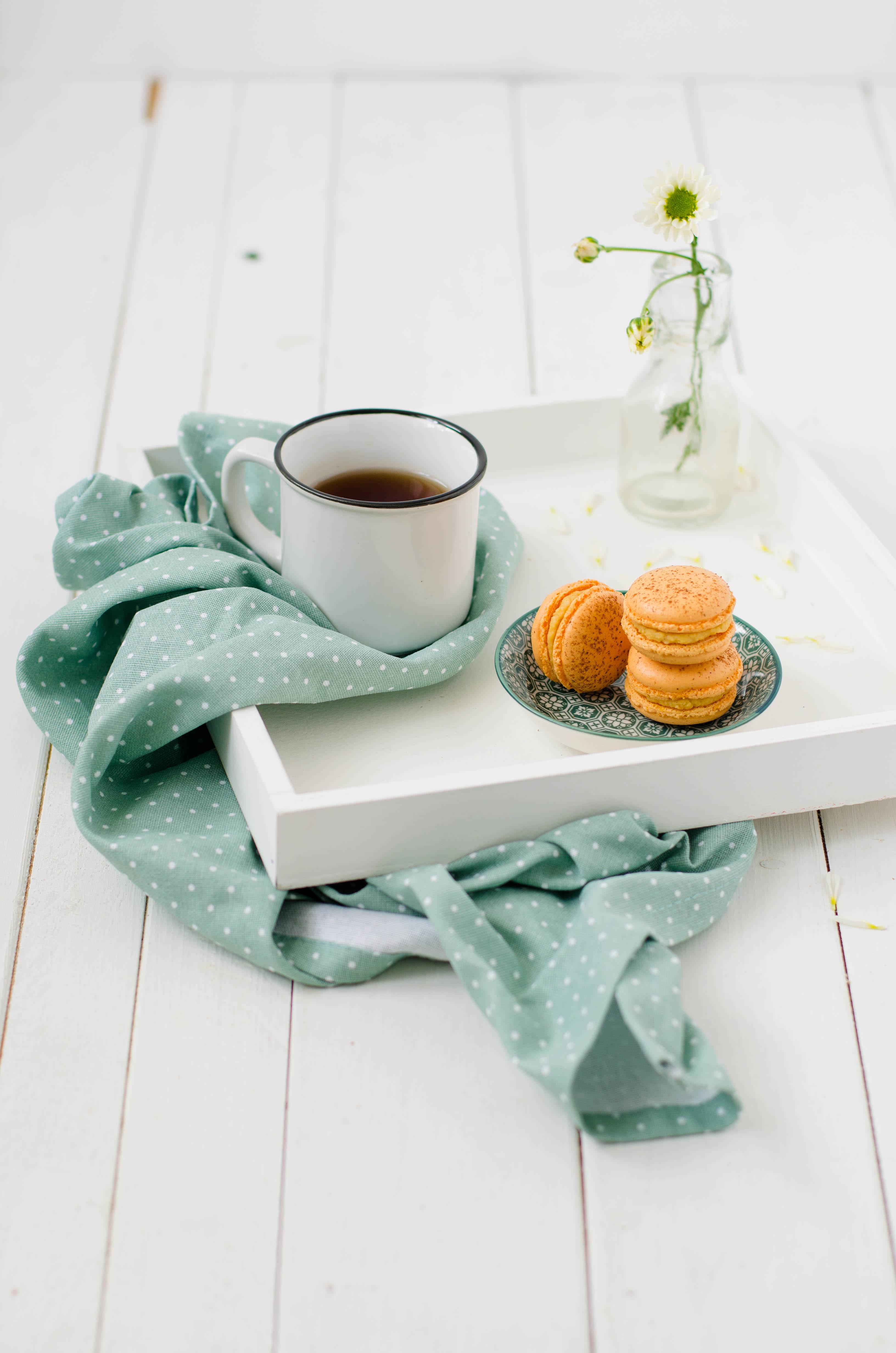 macarons_zucca1 Macarons speziati alla zucca