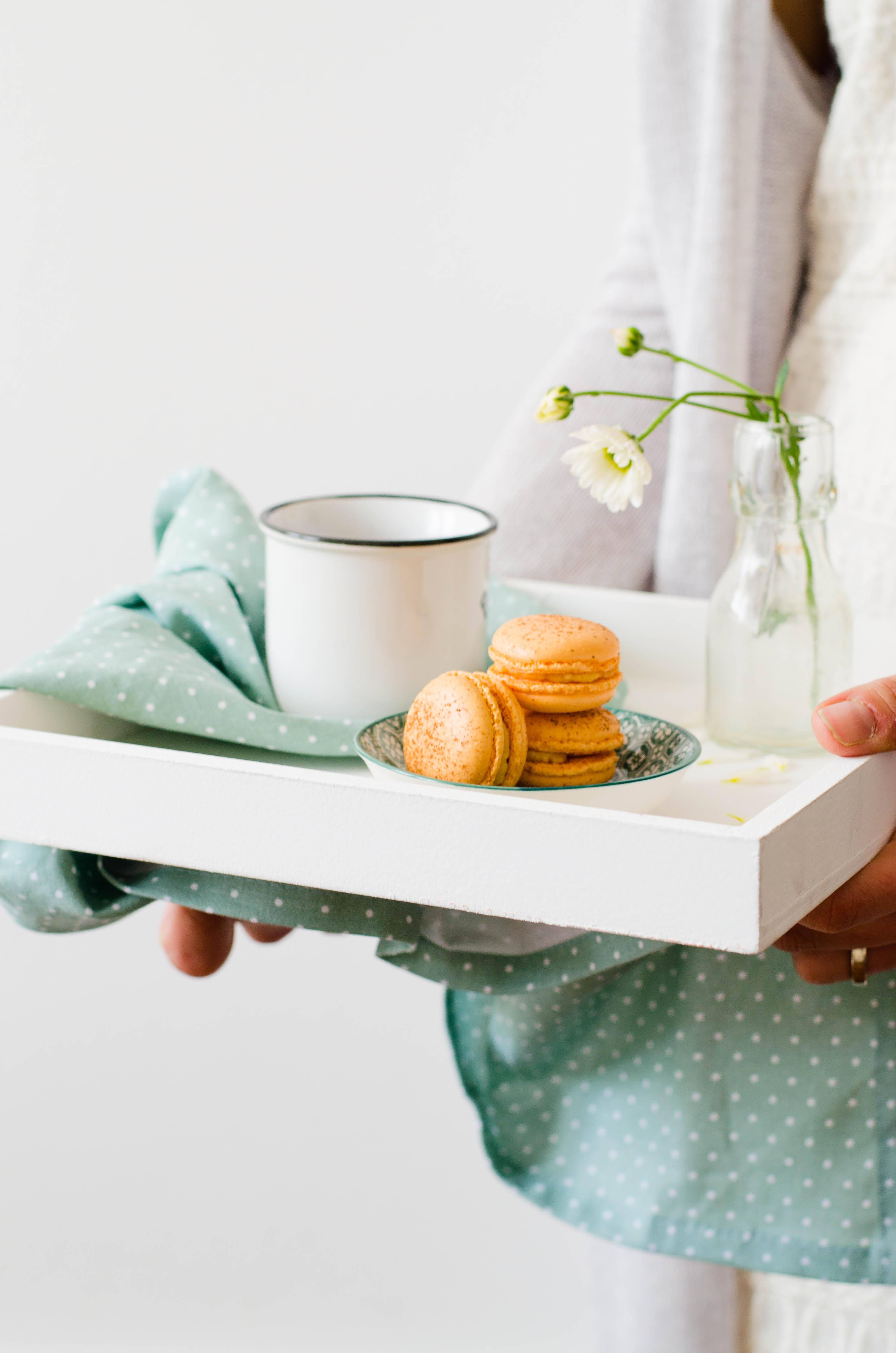 macarons_zucca2 Macarons speziati alla zucca