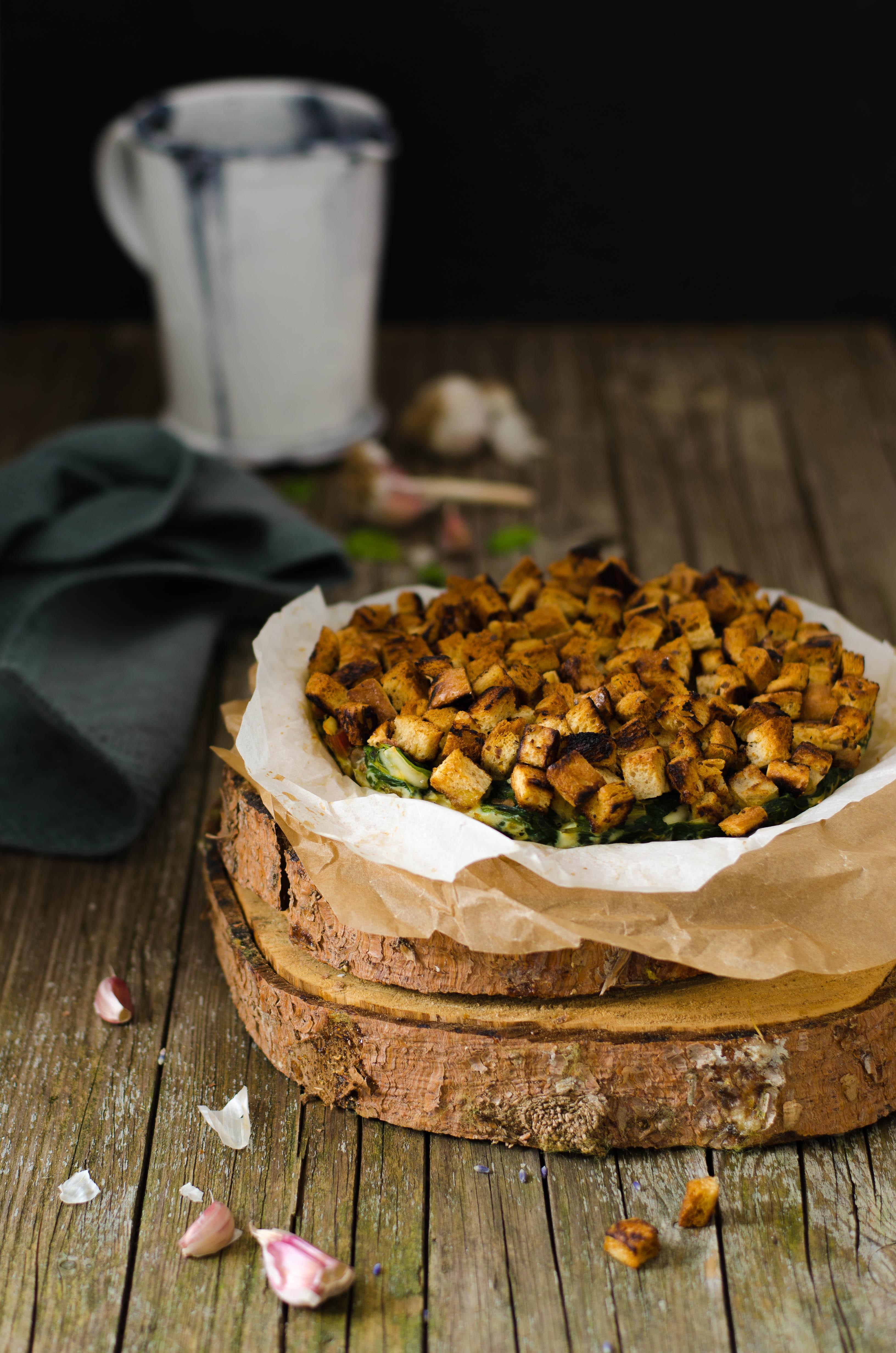 torta-rustica-spinaci-cavolo-nero Torta rustica di spinaci, cavolo nero e frutta secca