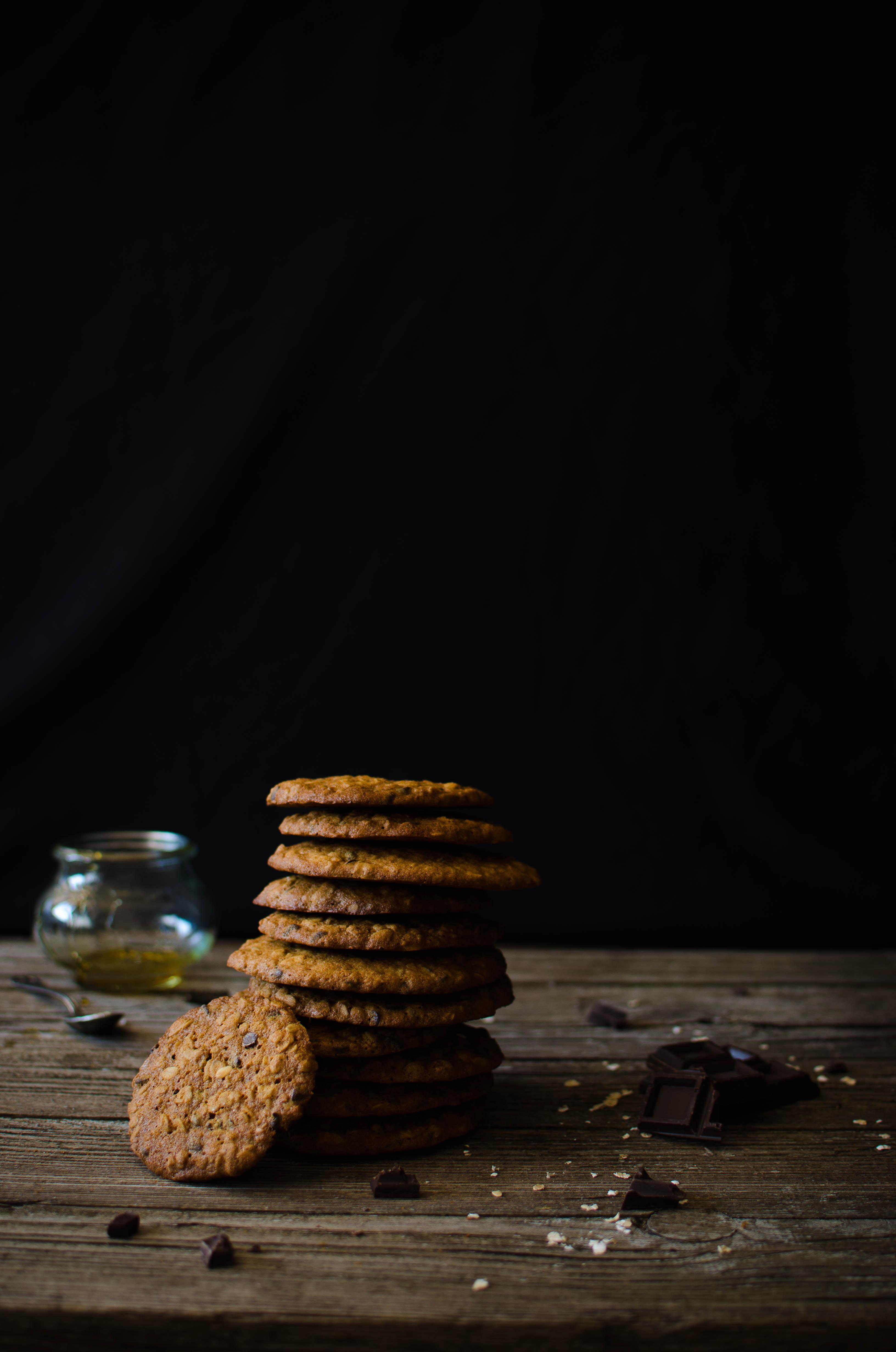 cookies_mielecioccolato Cookies al miele di castagno e cioccolato fondente