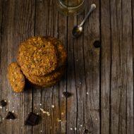 Cookies al miele di castagno e cioccolato fondente