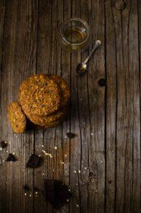 cookies_mielecioccolato1-199x300 Cookies al miele di castagno e cioccolato fondente