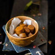 Caramelle Mou al tè Matcha alle rose
