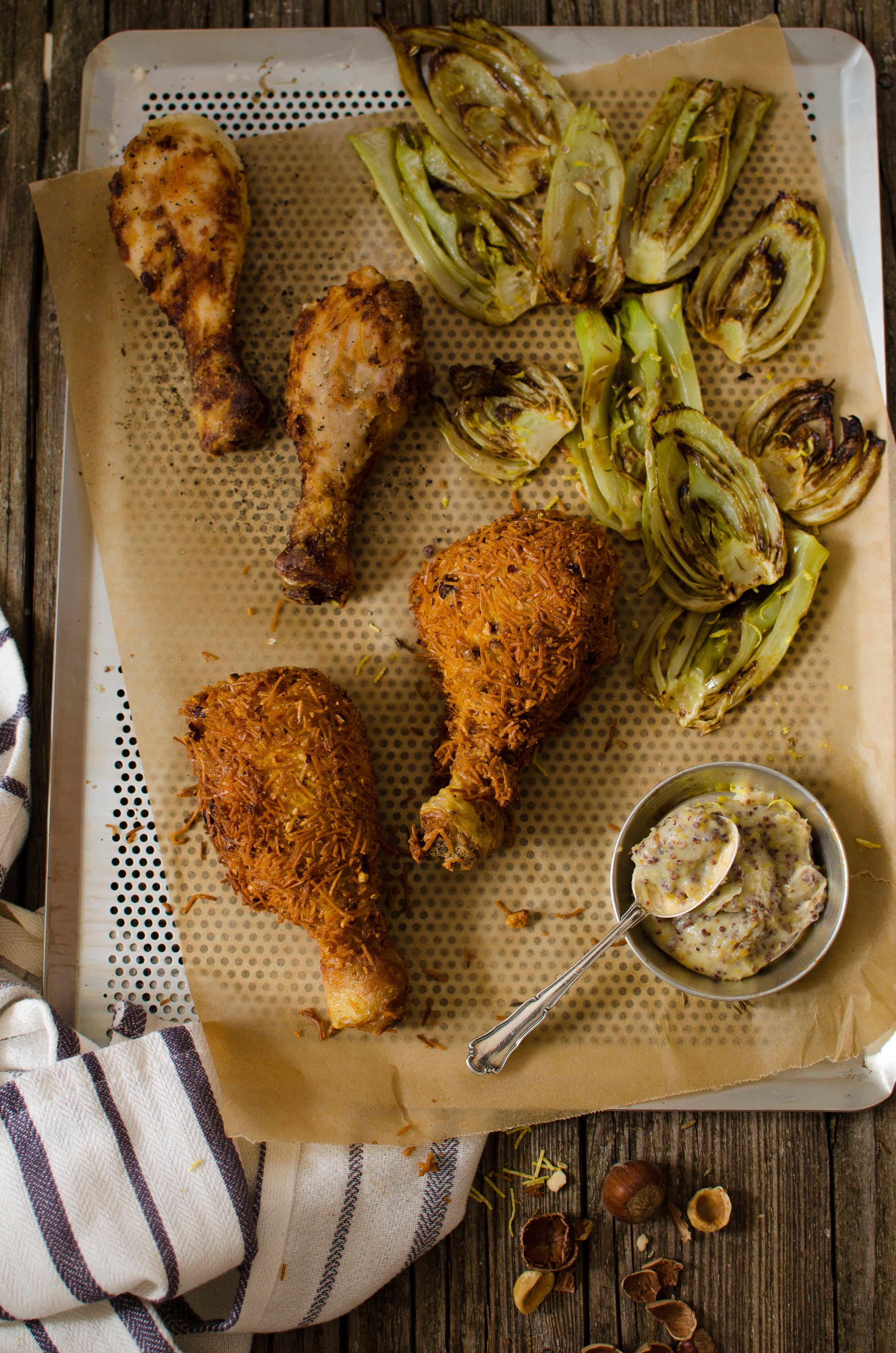 pollo_fritto_mtc2 Pollo fritto croccante con nocciole, spezie e Rhum