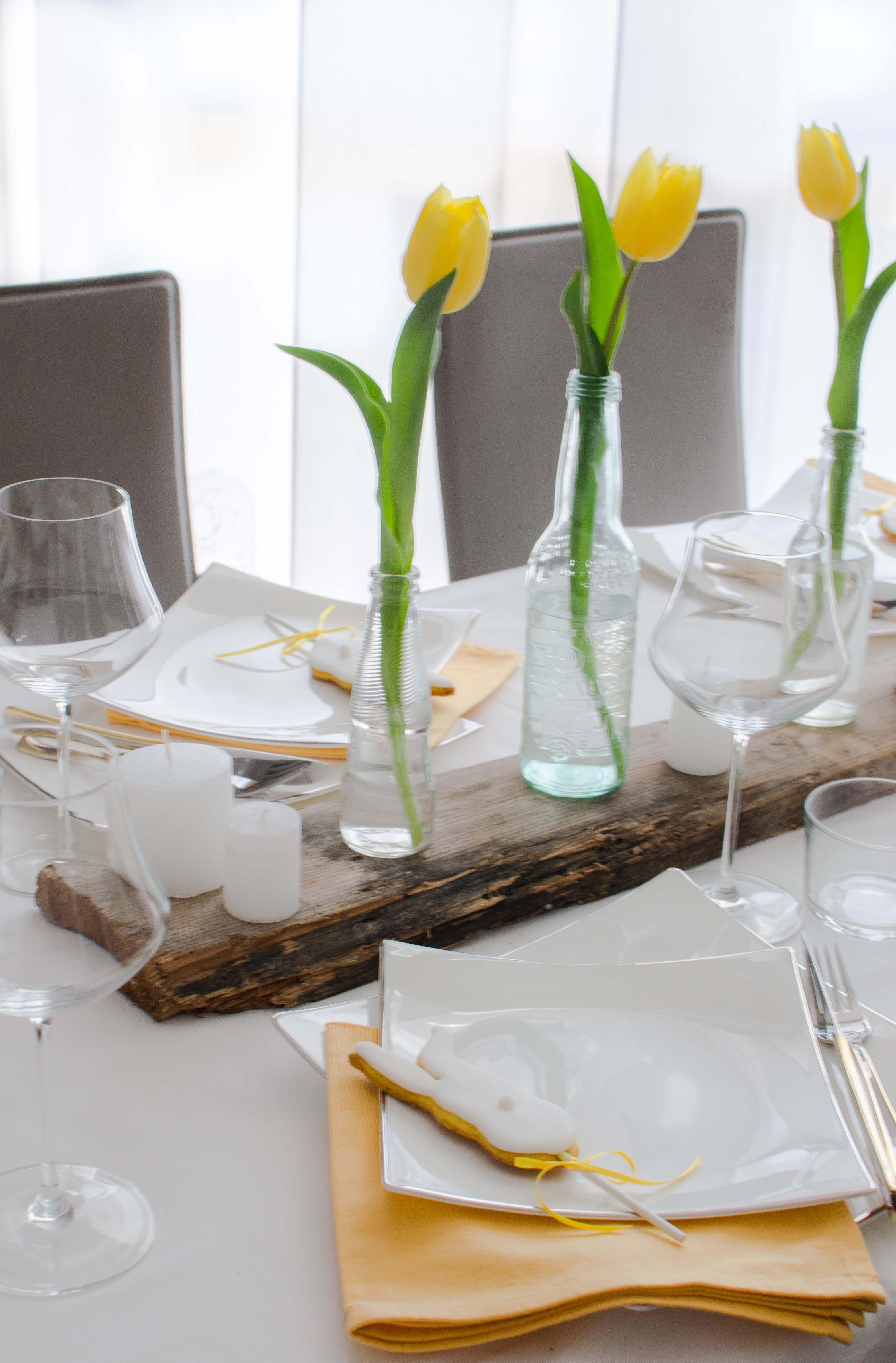 tavola_pasqua2 La mia tavola bianca e gialla
