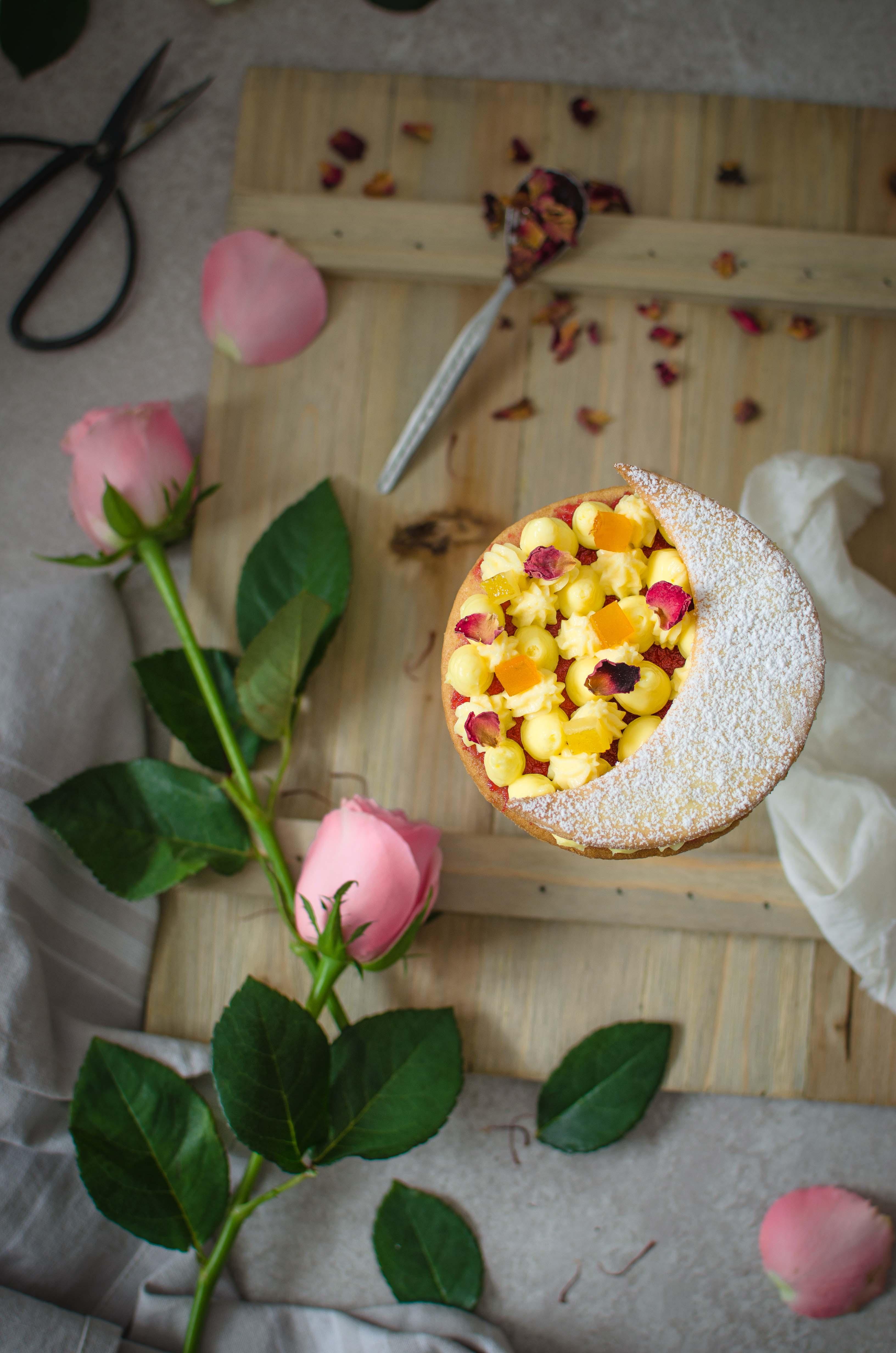 zafferano_agrumi_rosa3 Tartelette zafferano, agrumi e rose