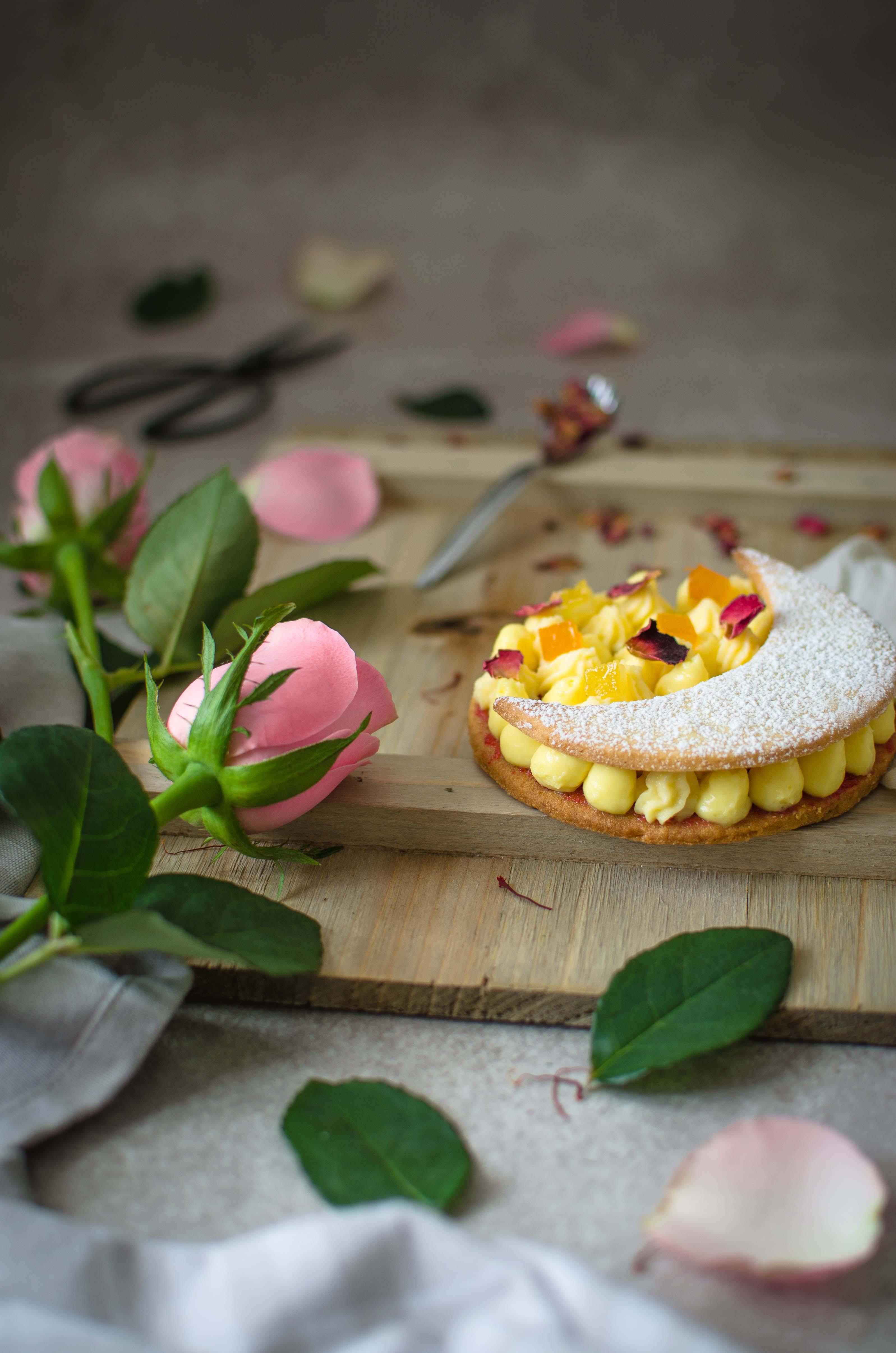 zafferano_agrumi_rosa4 Tartelette zafferano, agrumi e rose